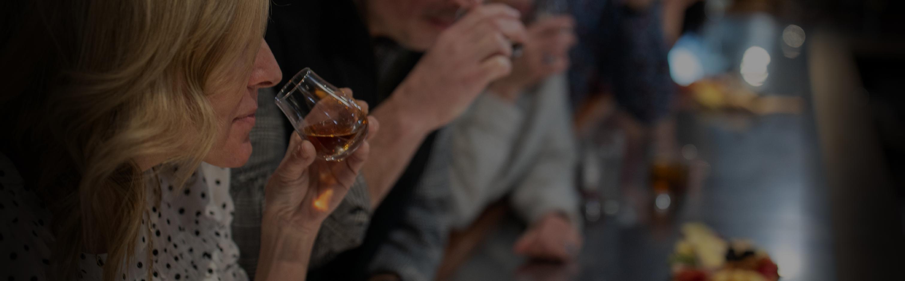 group having drinks