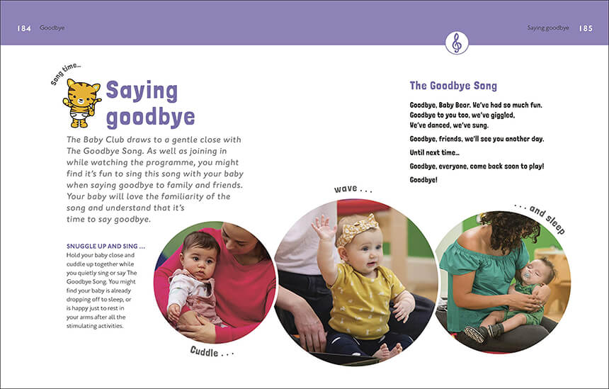 Play & Learn With Your Baby Book Spread