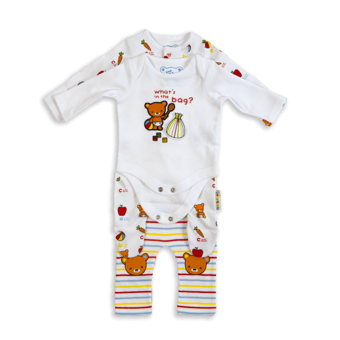 The Baby Club babywear  4 piece starter set
