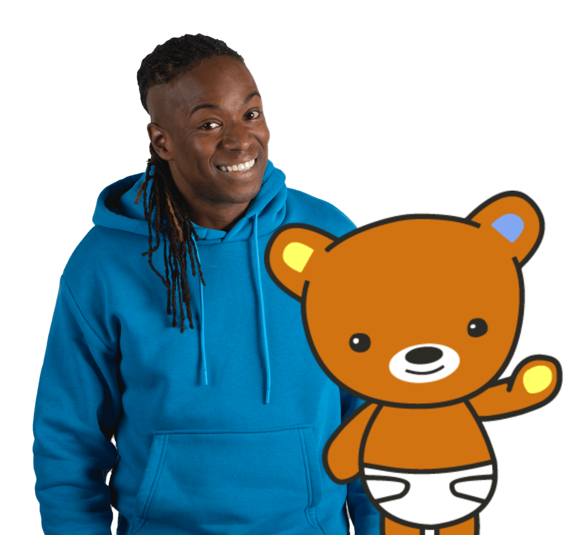 Nigel and Baby Bear