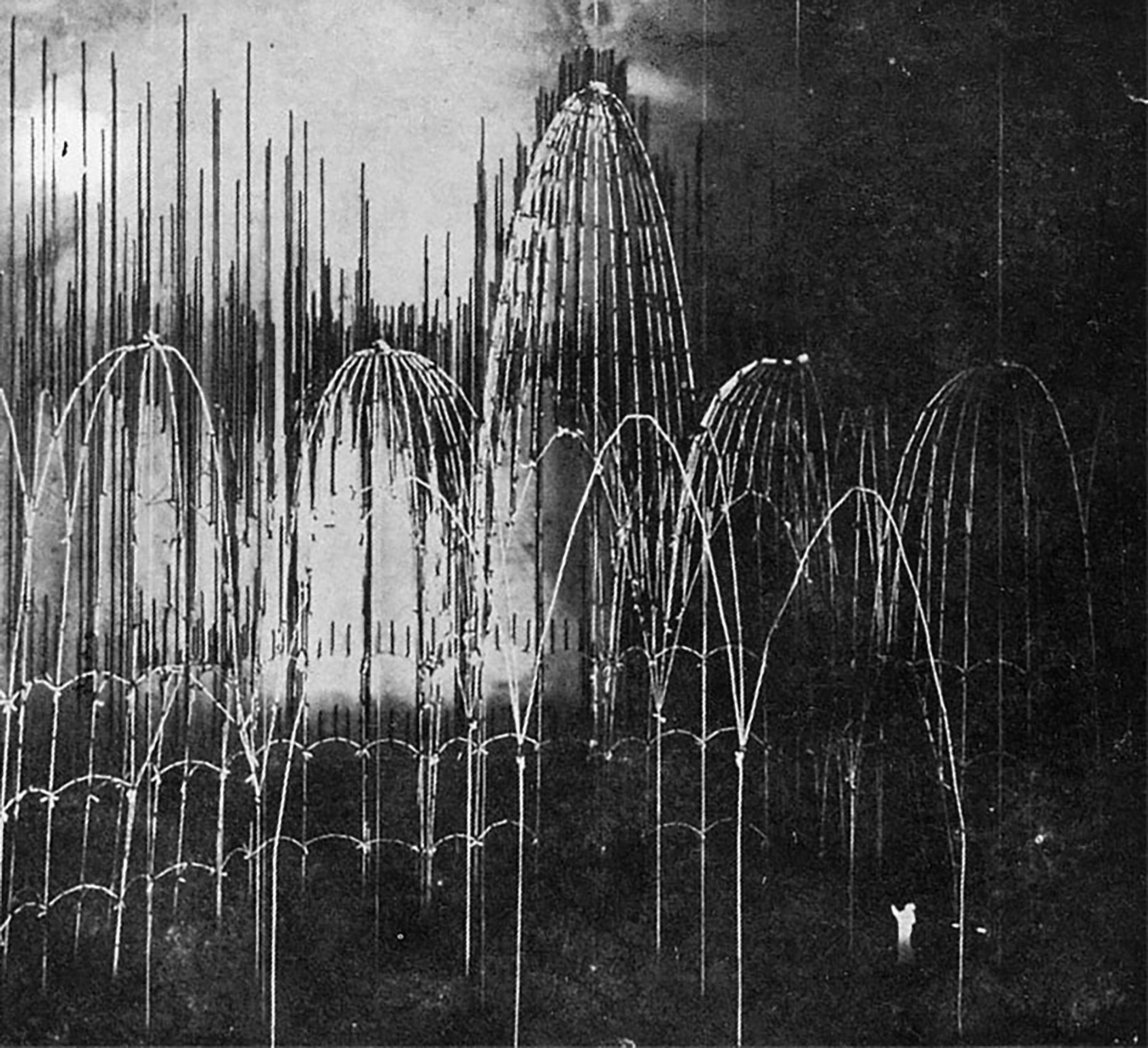Gaudi's model of the Sagrada Familia