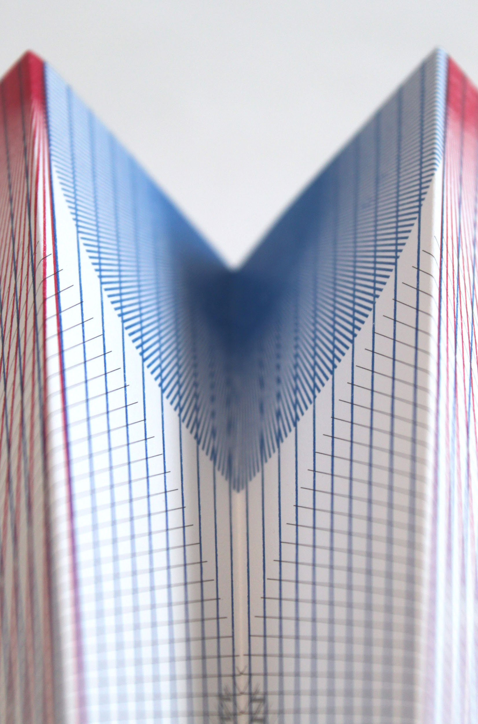 A detail of a printed Paper Plane fin