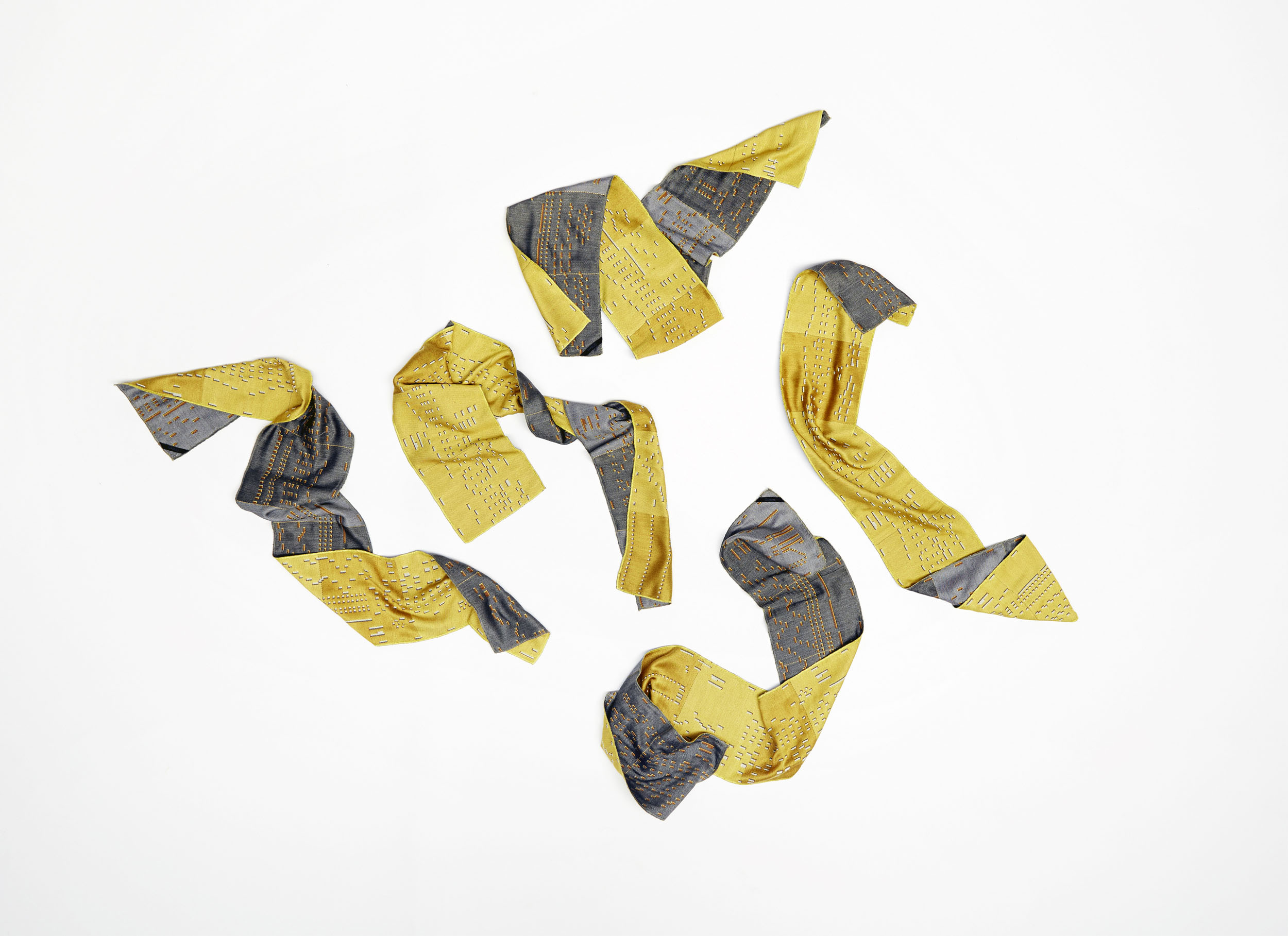 A scattering of Boogie Scarves