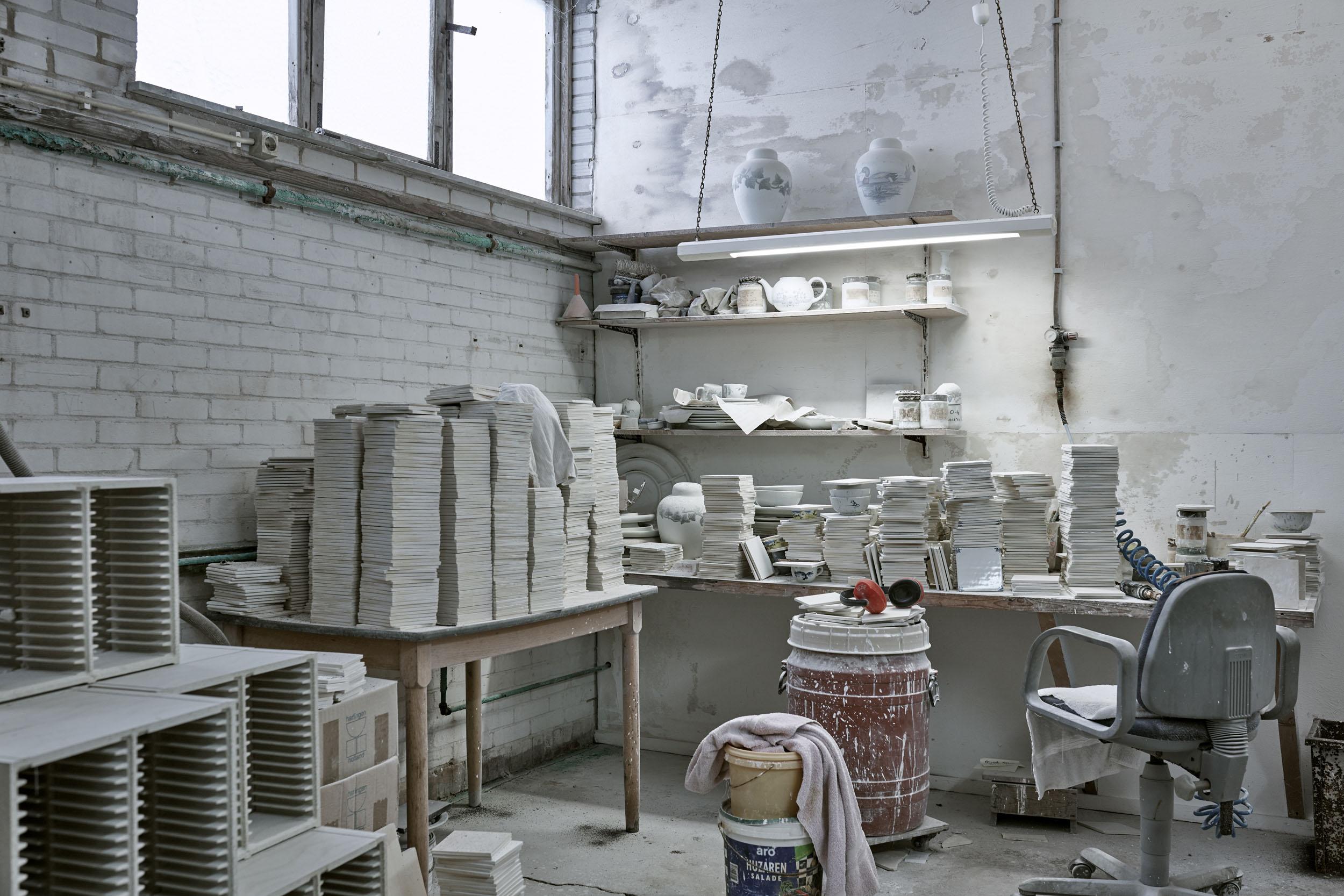 The ceramic tile studio