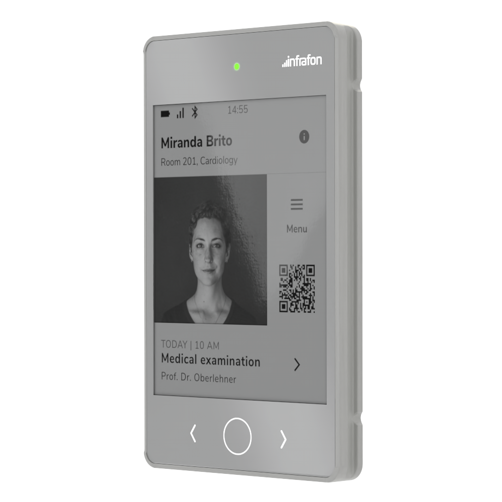 A credit card sized smart device, lightweight and highly connective with a high-res e-paper display and capacitive touch