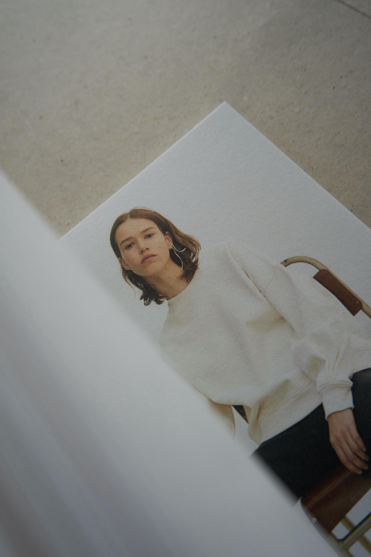 A Trashure Studio magazine design for fashion label Caes.