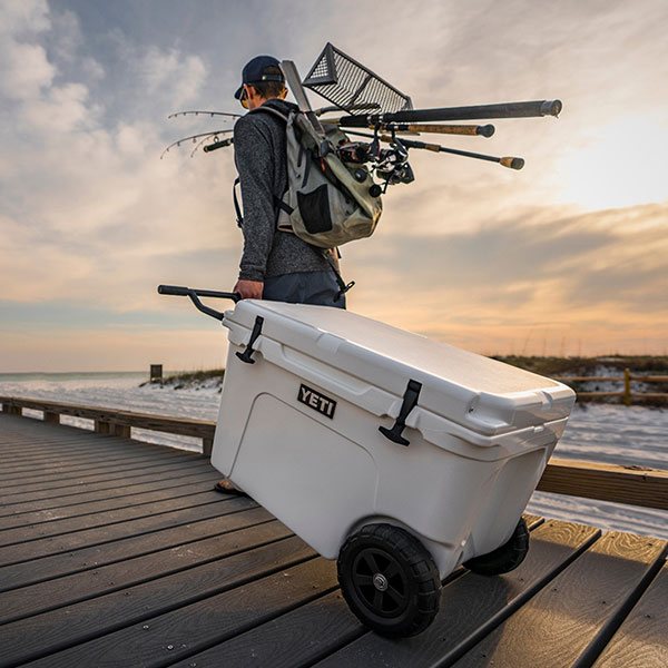 YETI Coolers Tundra Haul wheeled cooler Product Design Industrial Design