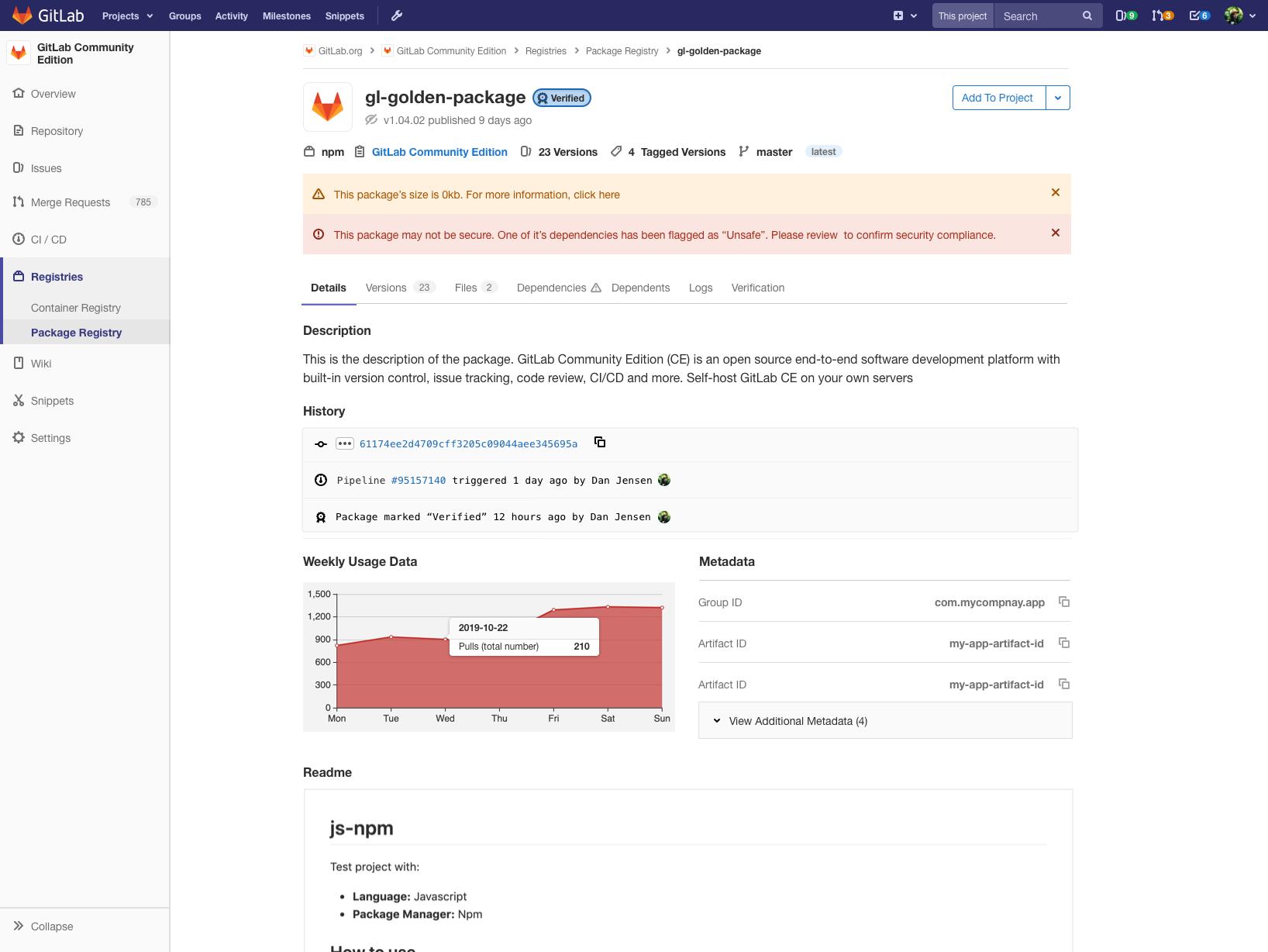 GitLab's Registries