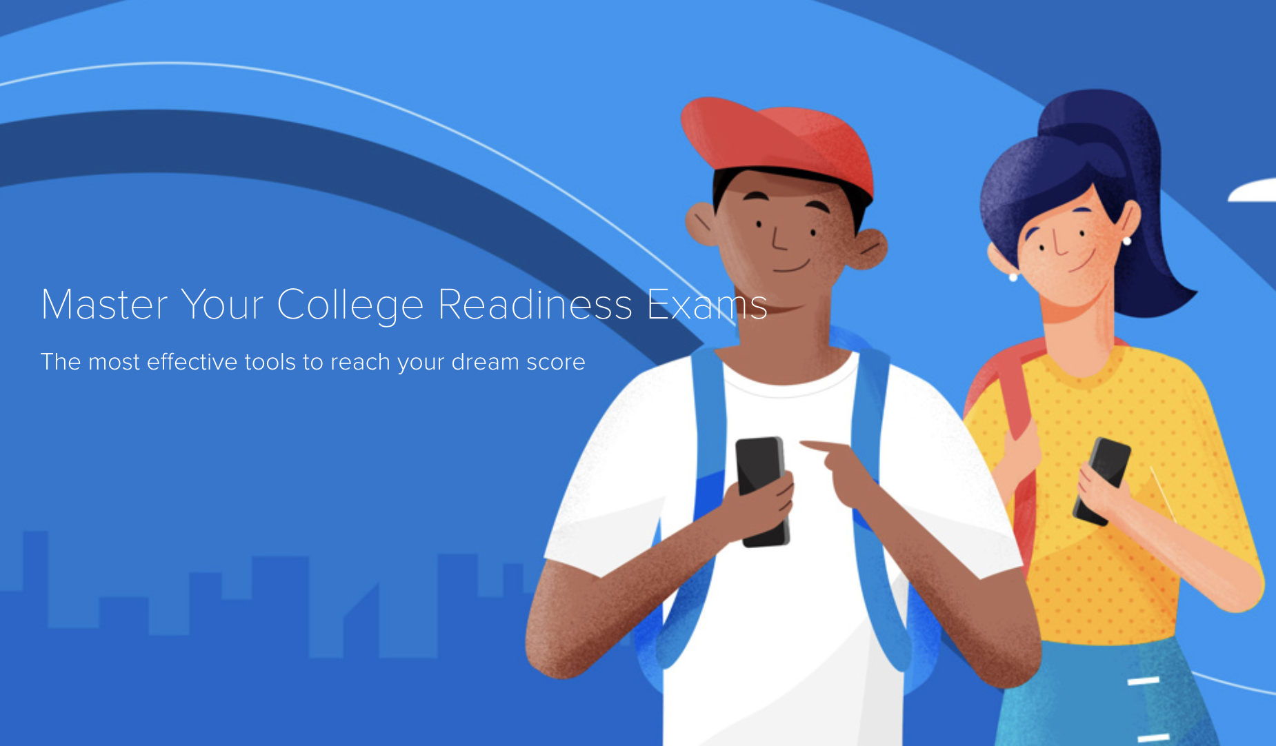Free SAT/ACT practice tests, tutorials, step-by-step solutions, and more. Designed to help students land their dream score without the expensive price tag.