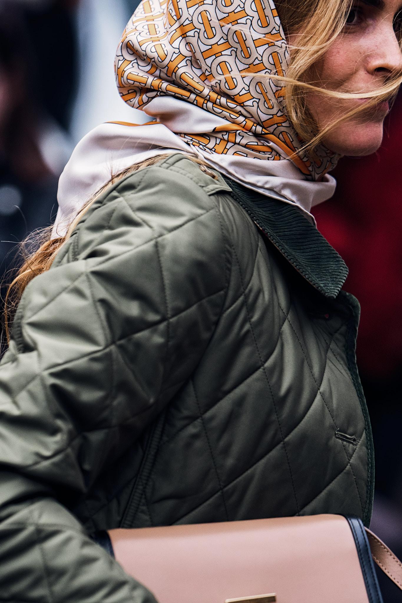 Blanca Miró Scrimieri - Outside Burberry - London Fashion Week FW19