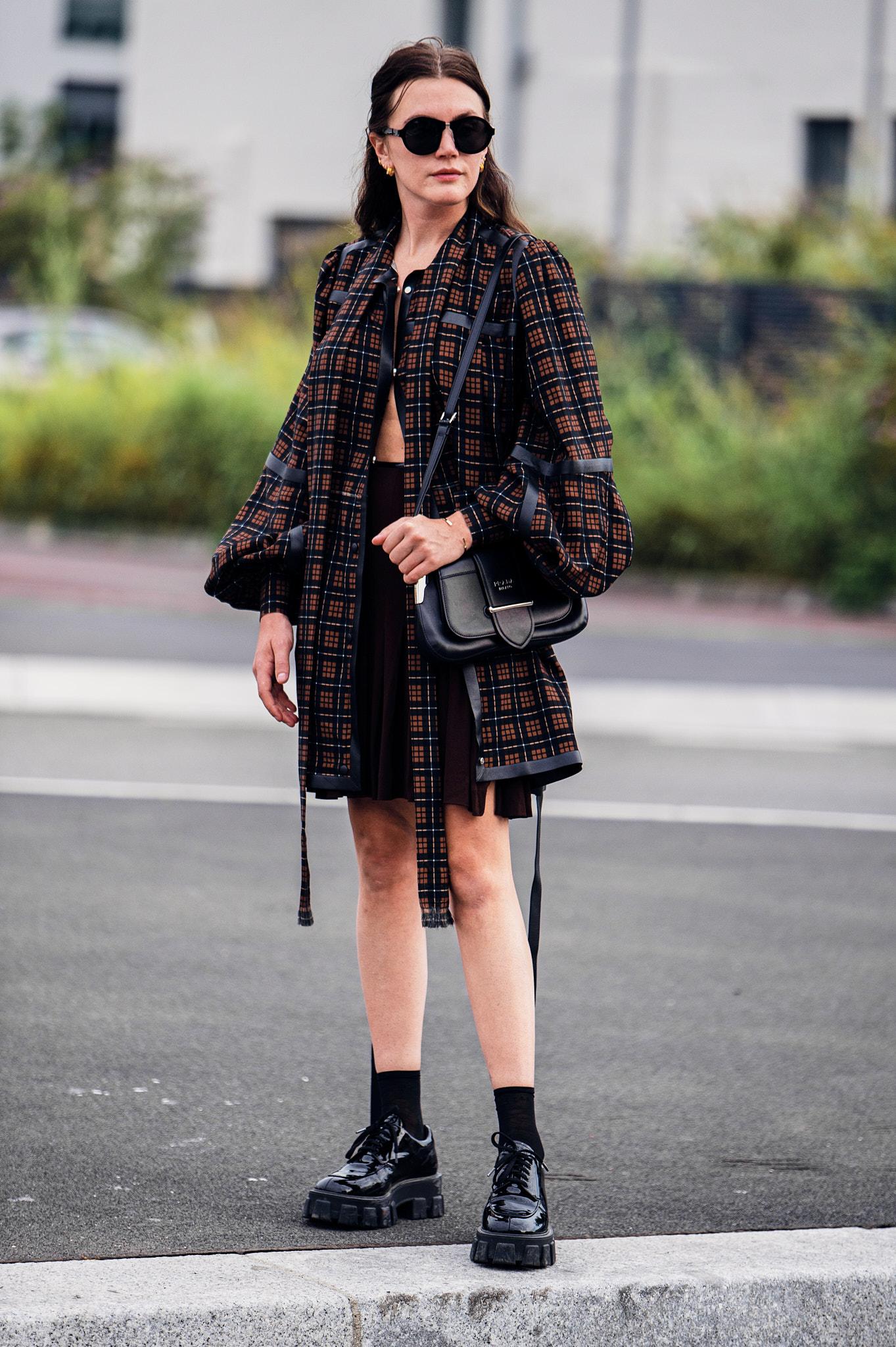 Madelynn Furlong - Outside Prada - Milan Fashion Week SS20