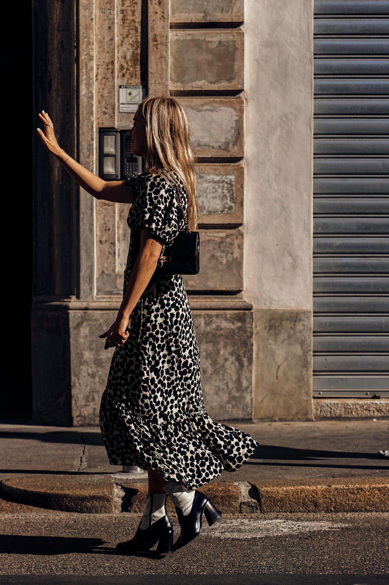 Aemilia Madden - Outside The Attico - Milan Fashion Week SS20