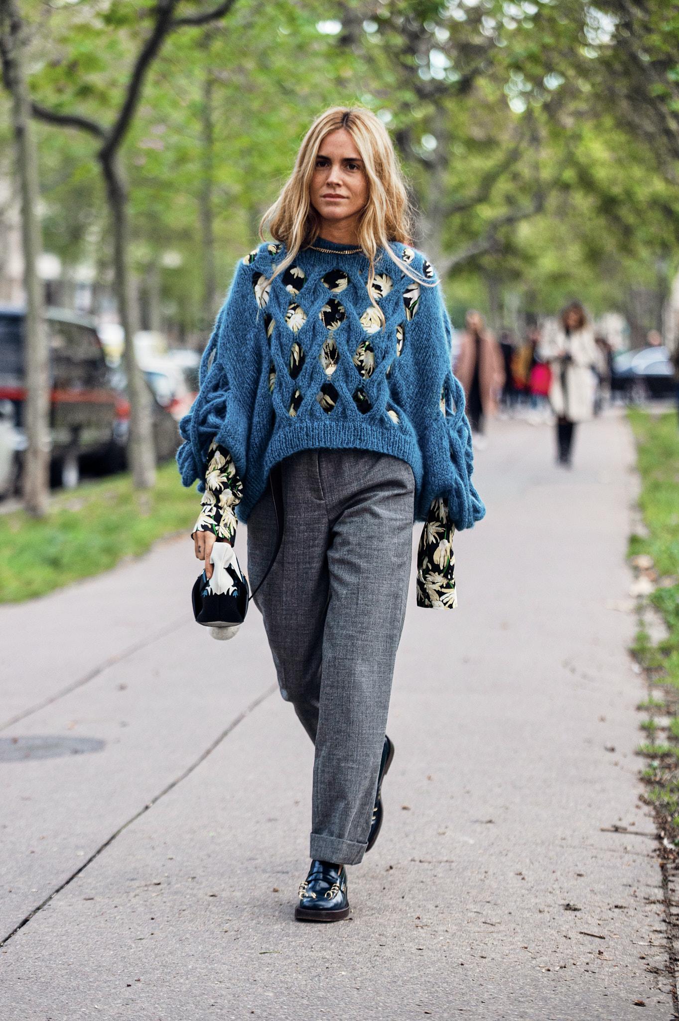 Blanca Miró Scrimieri - Outside Loewe - Paris Fashion Week SS20