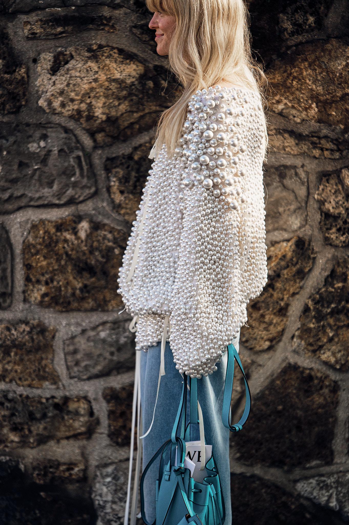 Jeanette Madsen - Outside Loewe - Paris Fashion Week SS20