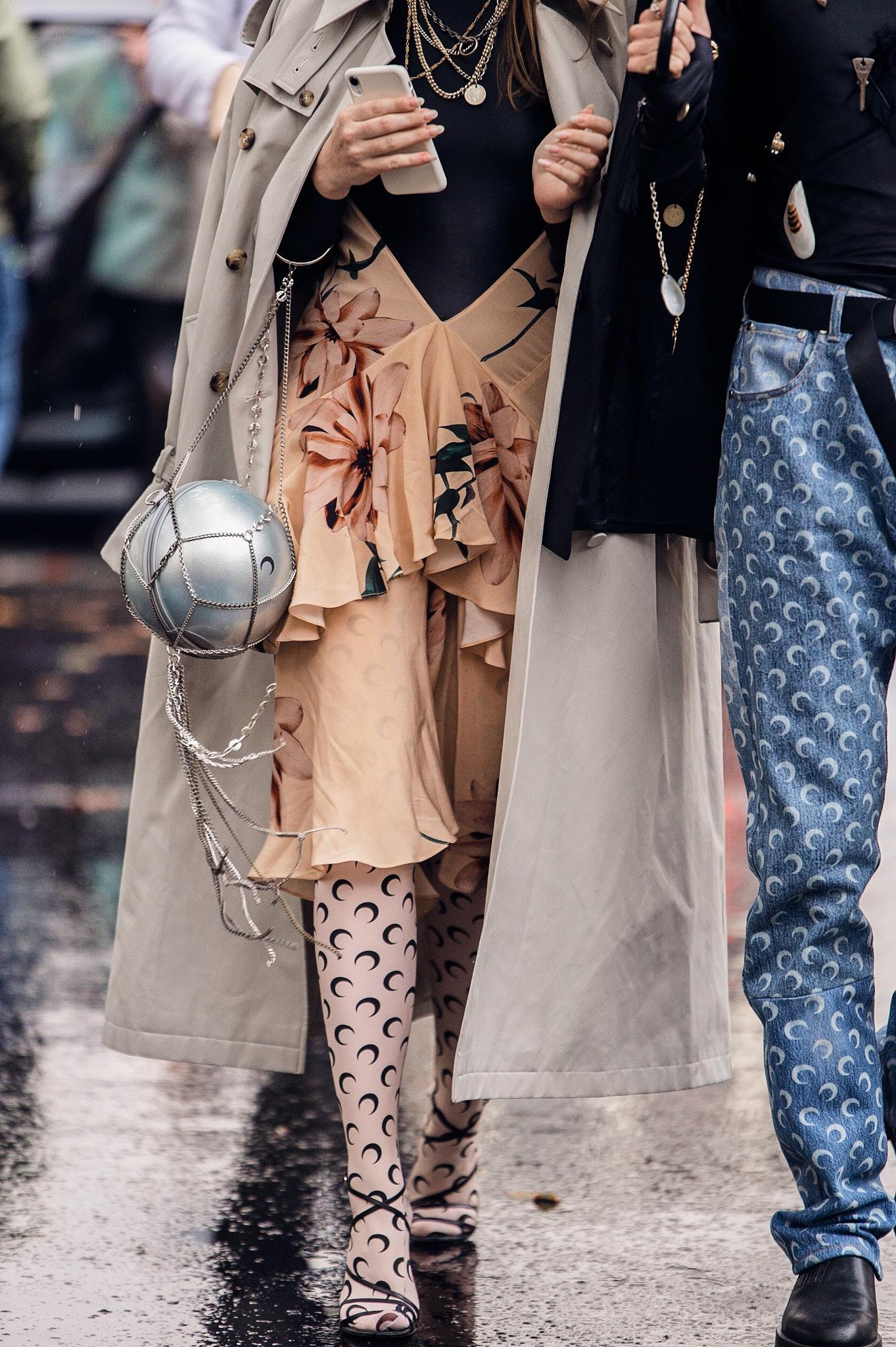 On the street - Paris Fashion Week SS20