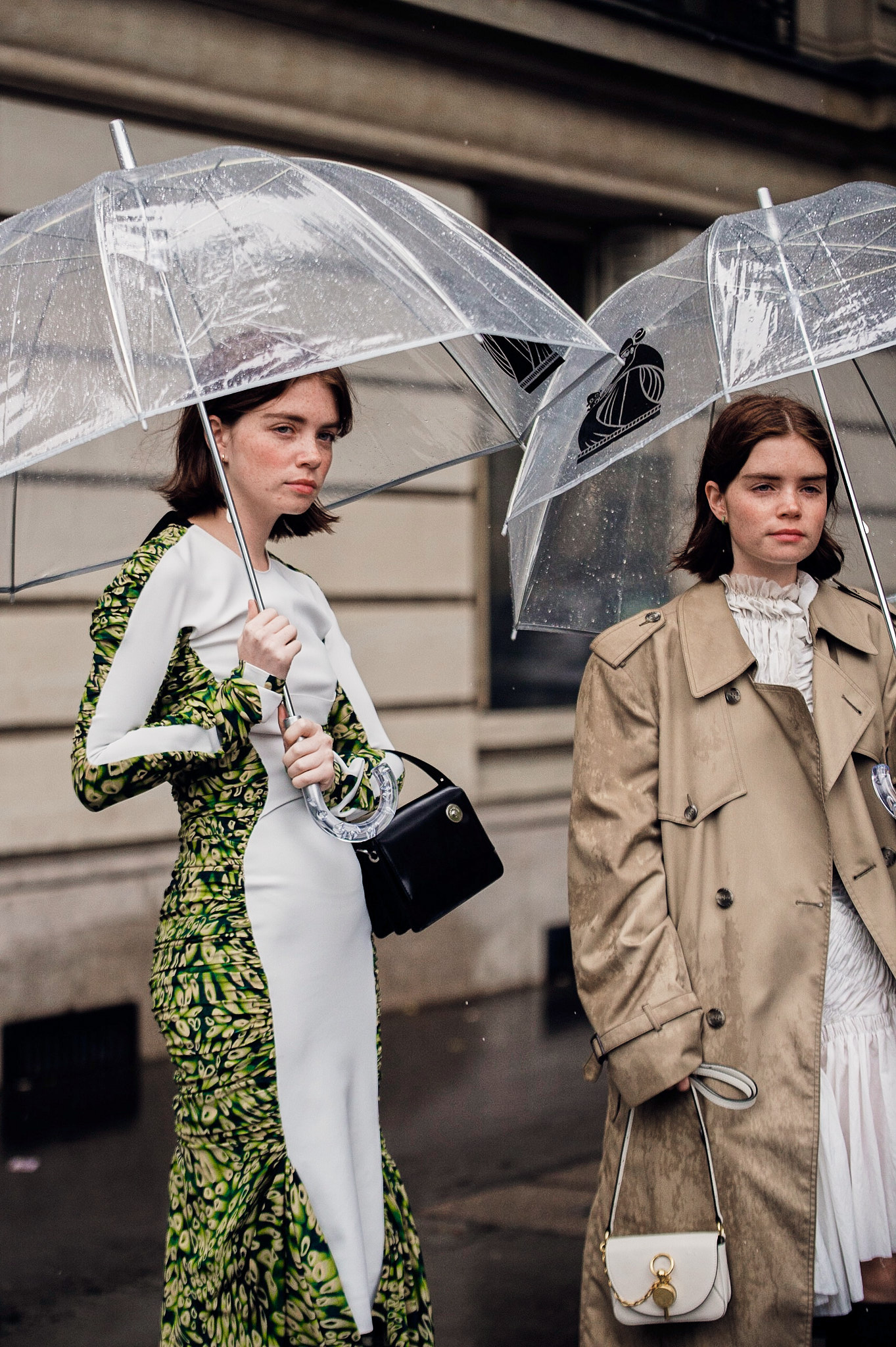 Reese and Molly Blutstein -  Paris Fashion Week SS20