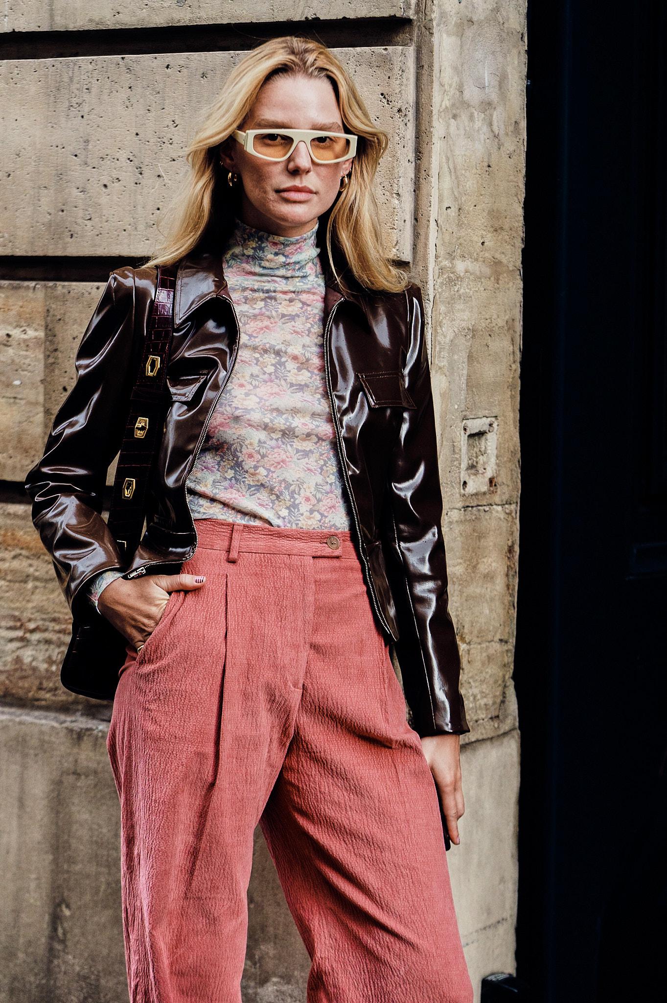 Megan Adelaide Vega - Outside Thom Browne - Paris Fashion Week SS20