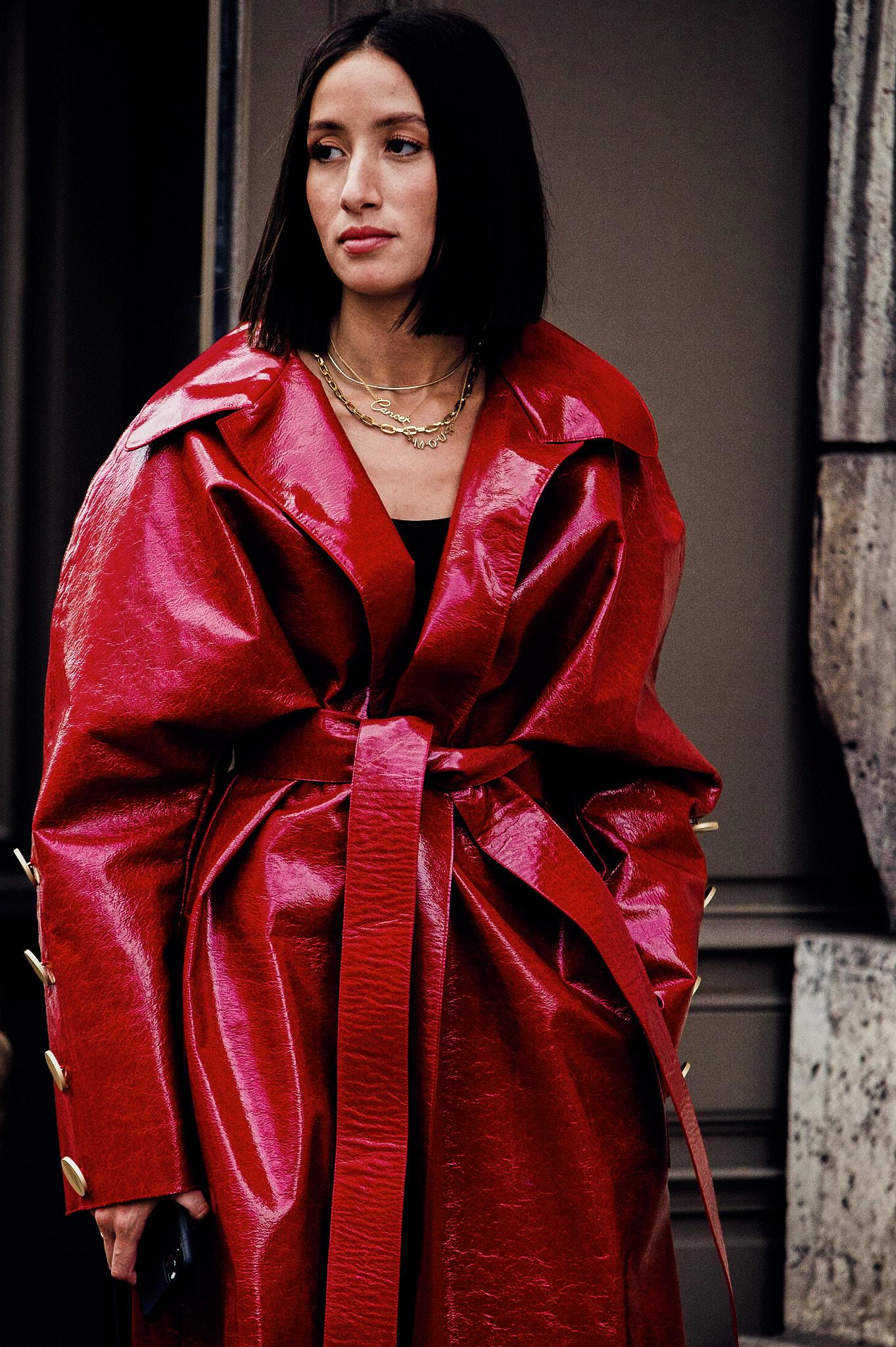 Alexandra Guerain - Outside Nina Ricci - Paris Fashion Week SS20