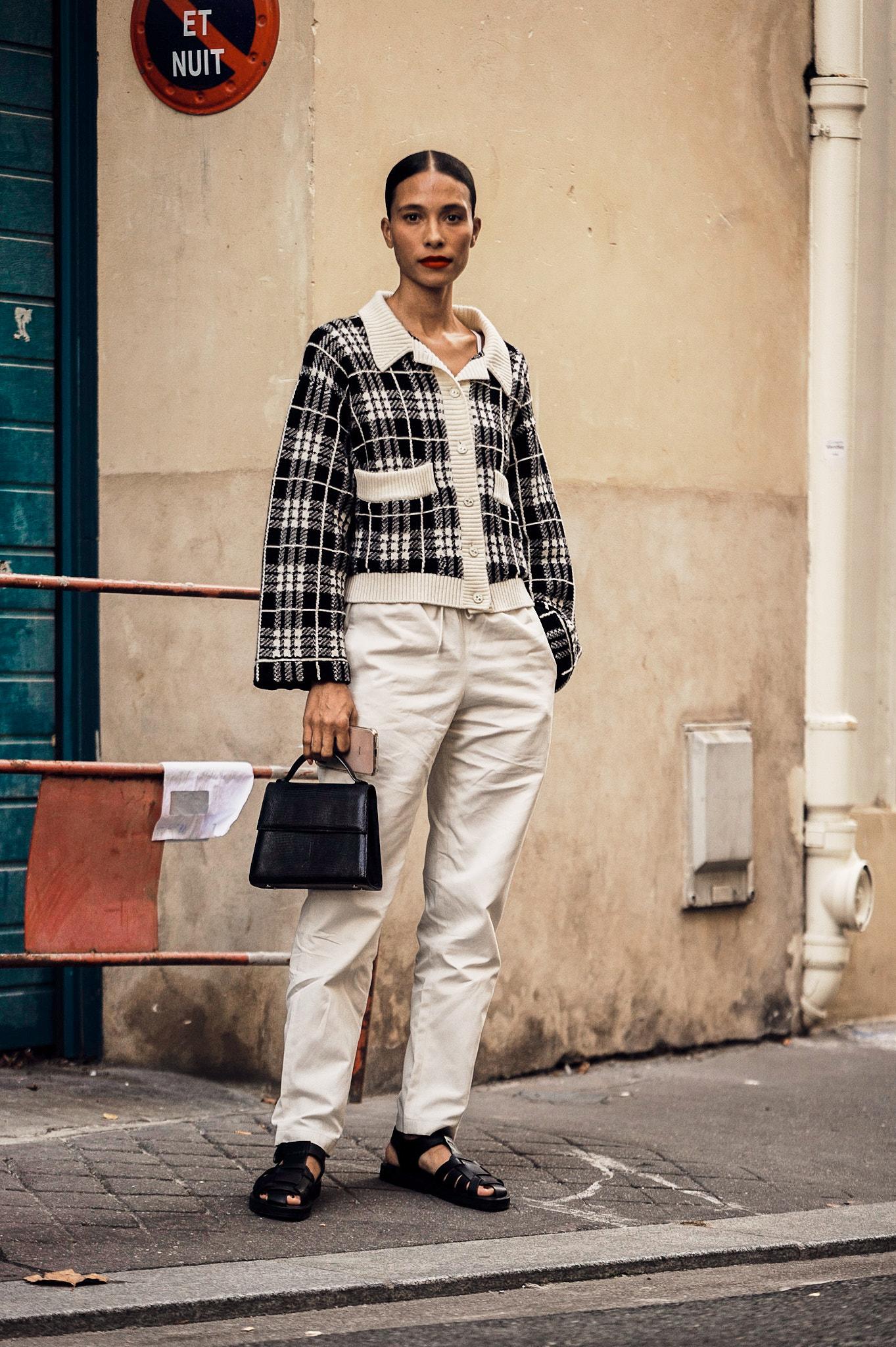 TyLynn Nguyen - Outside A.P.C. - Paris Fashion Week SS20