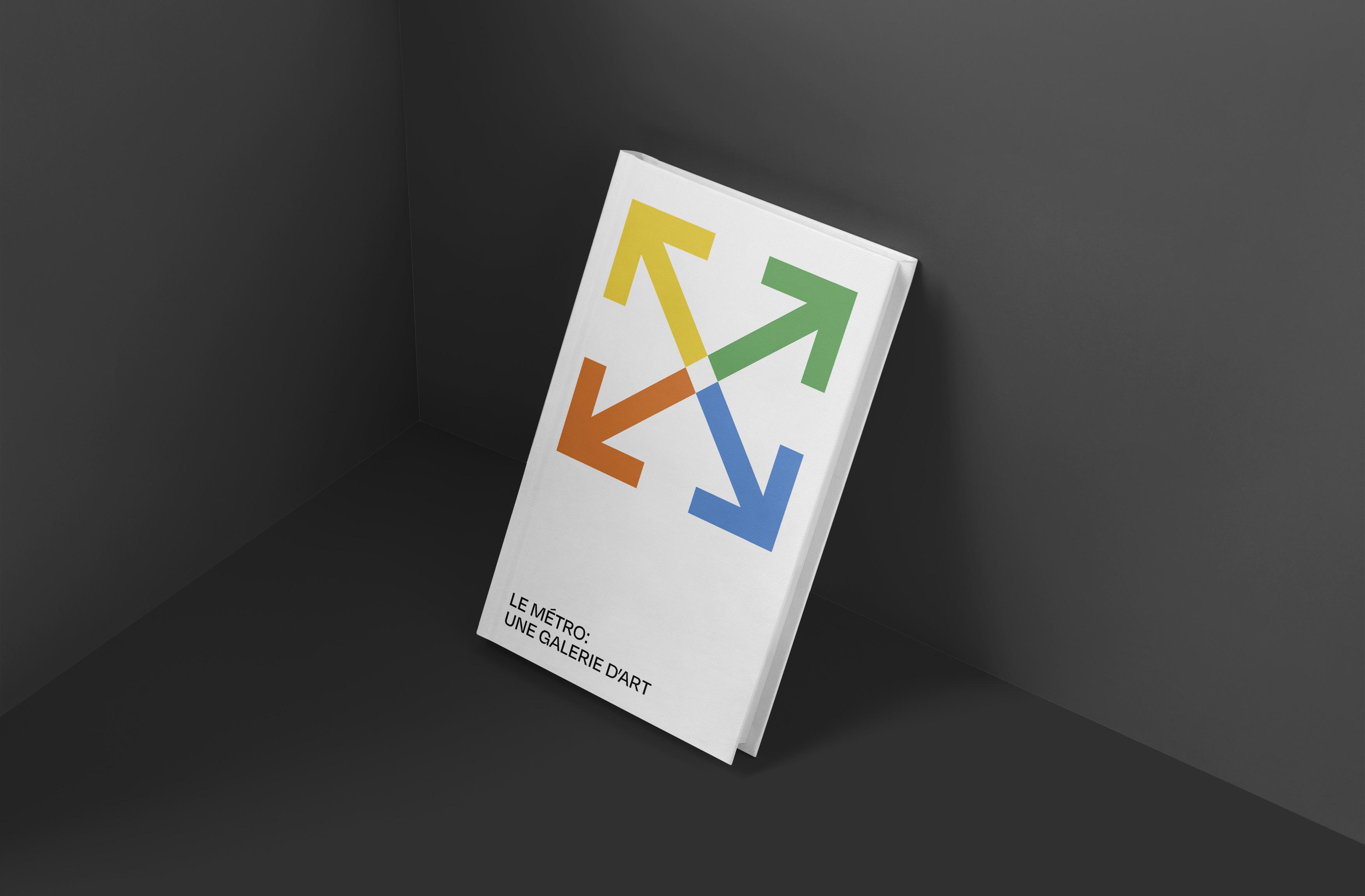 "Image of ""Le Metro: Une Gallerie D'art"" book"