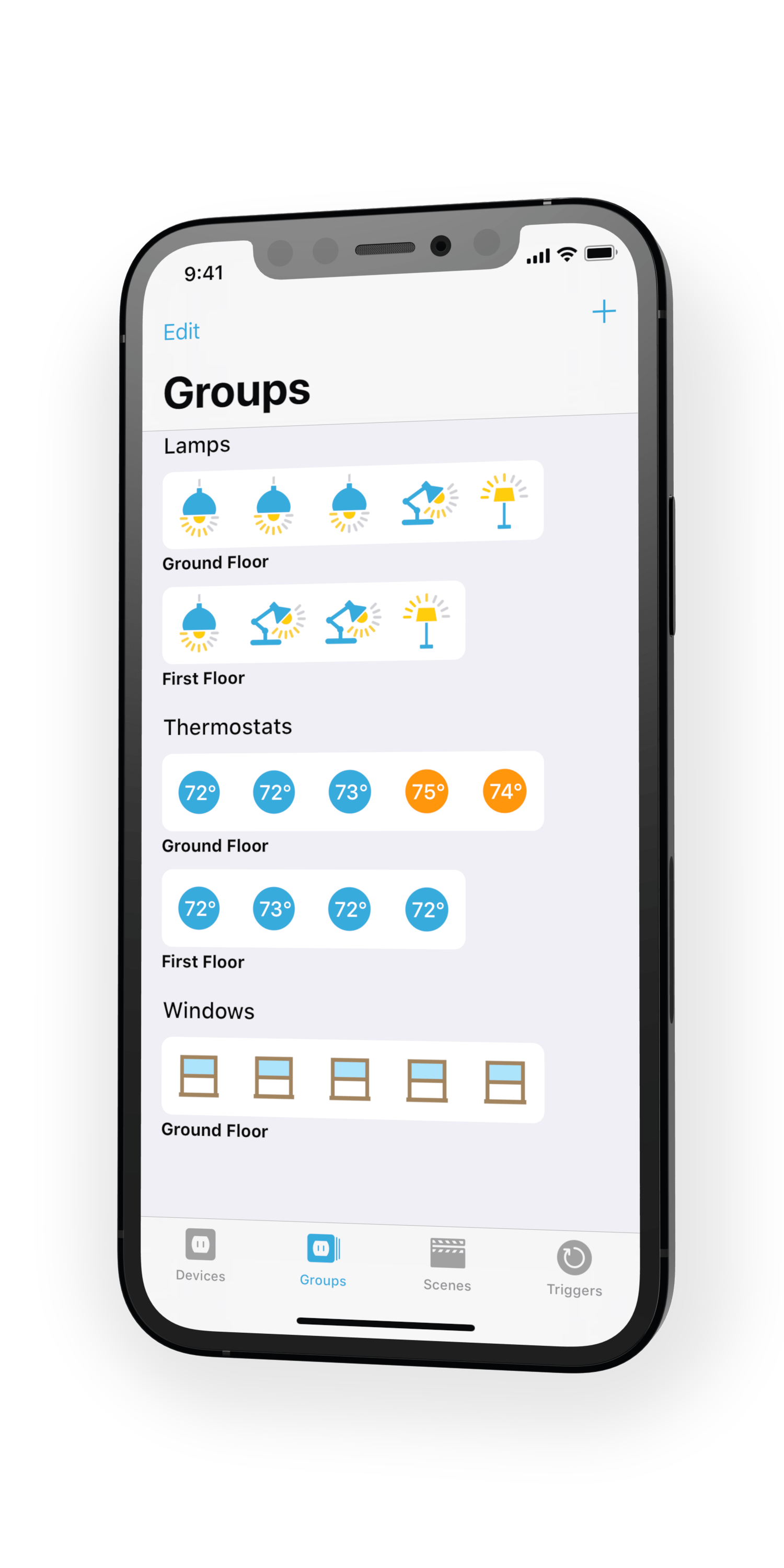 Devices App Groups