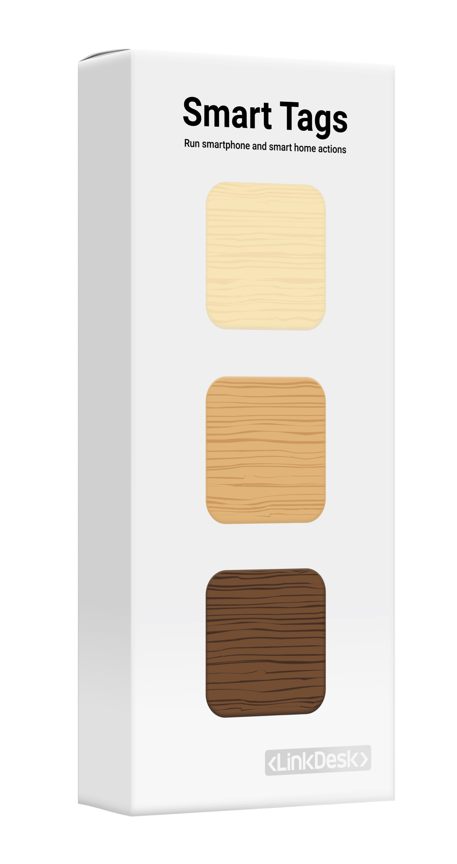 Smart Tags Wood Edition