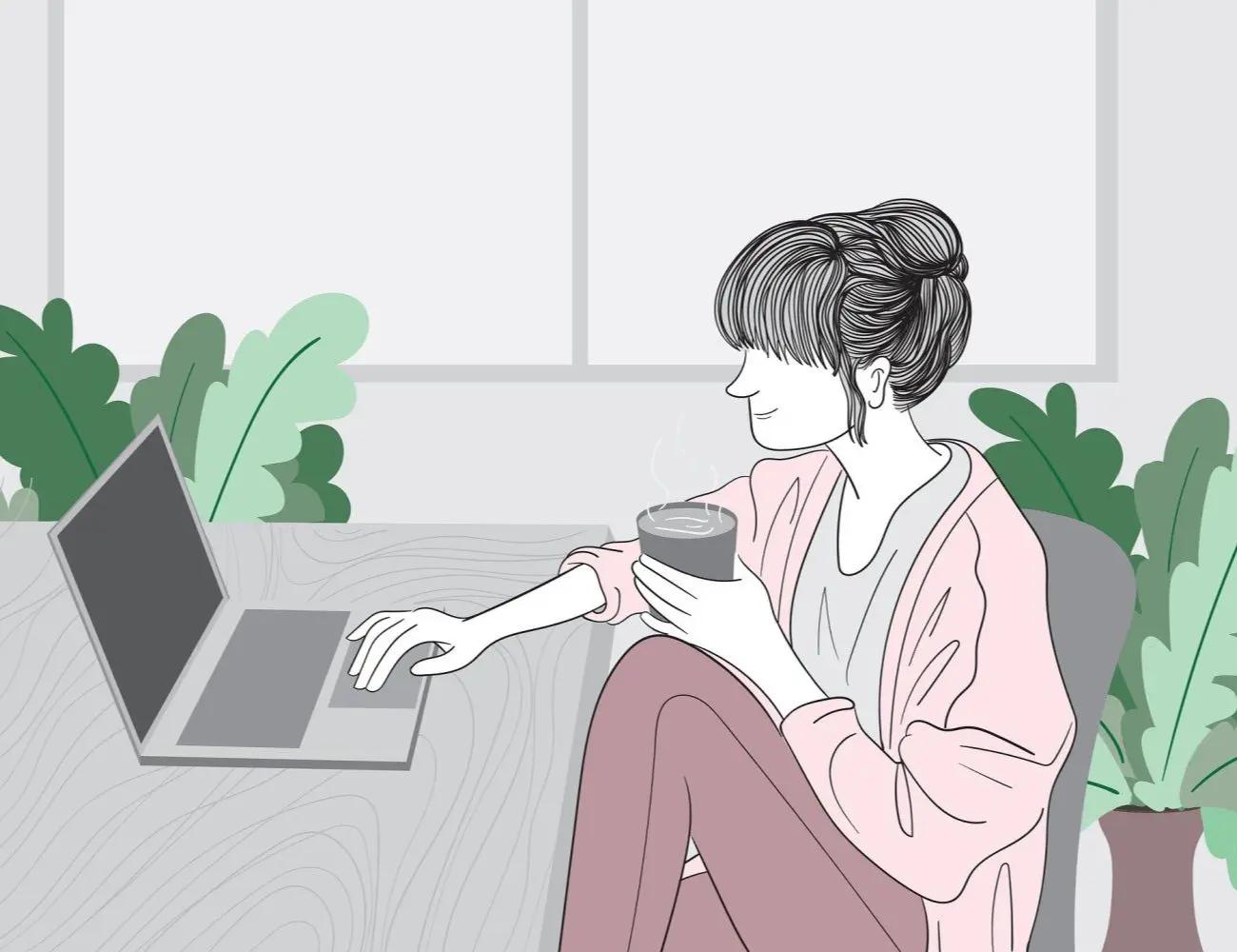 Travailler de chez soi, c'est pour les misanthropes
