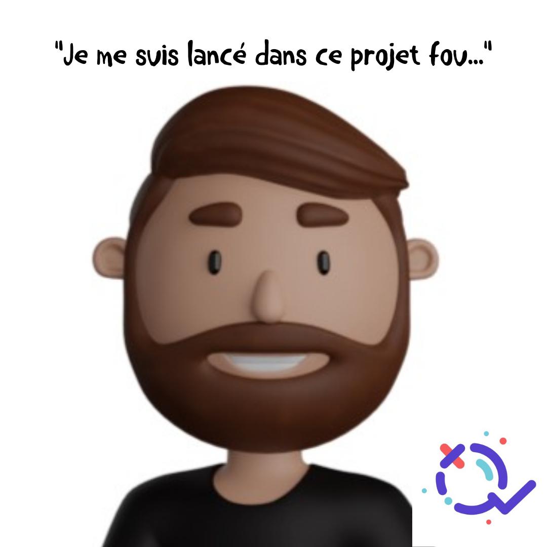 Parcours d'entrepreneur : Laurent HENEMAN CEO et Fondateur de Quizwer