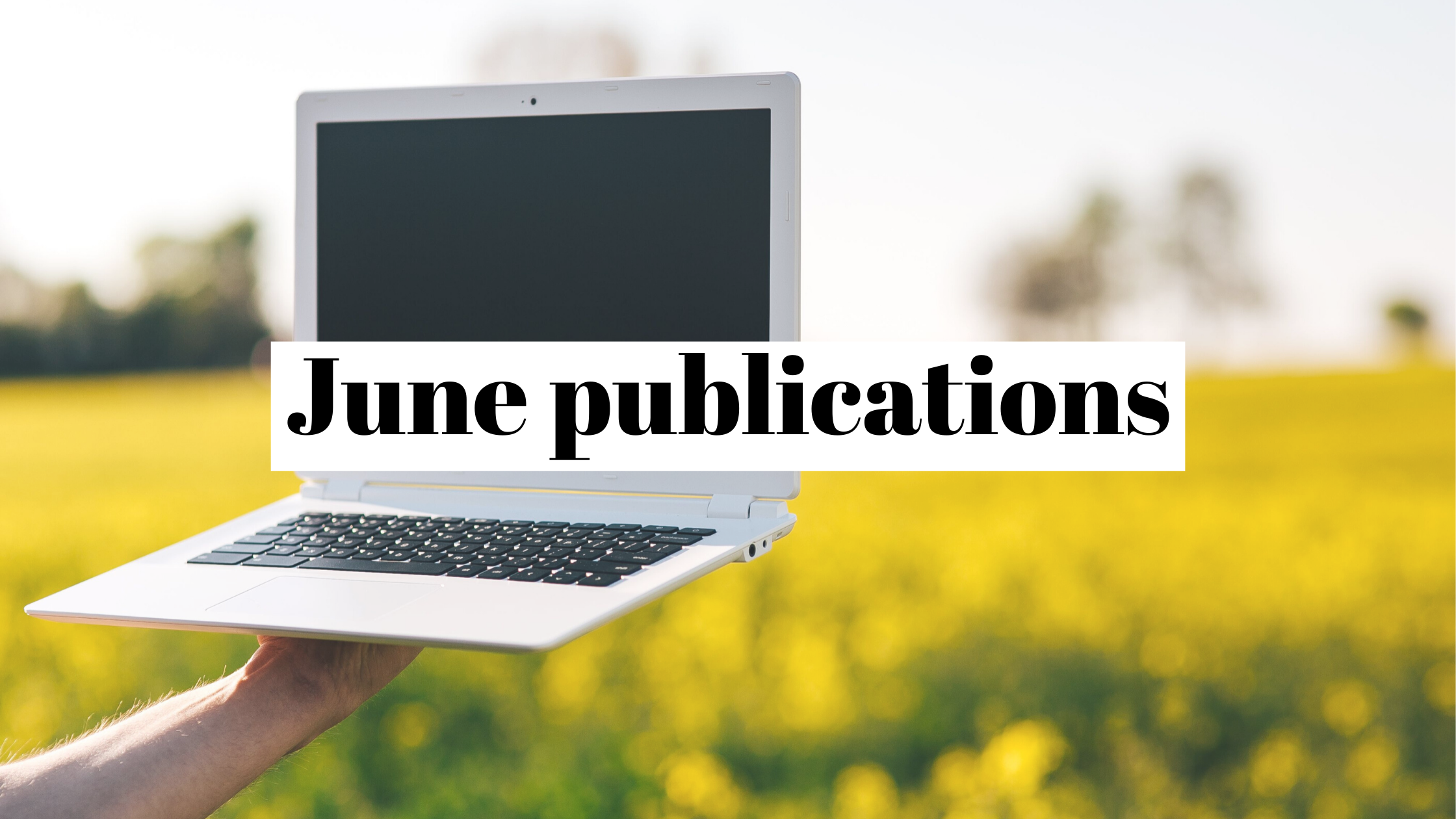 Our June 2020 publicity recap: drones were flying and so were we (not literally, though)
