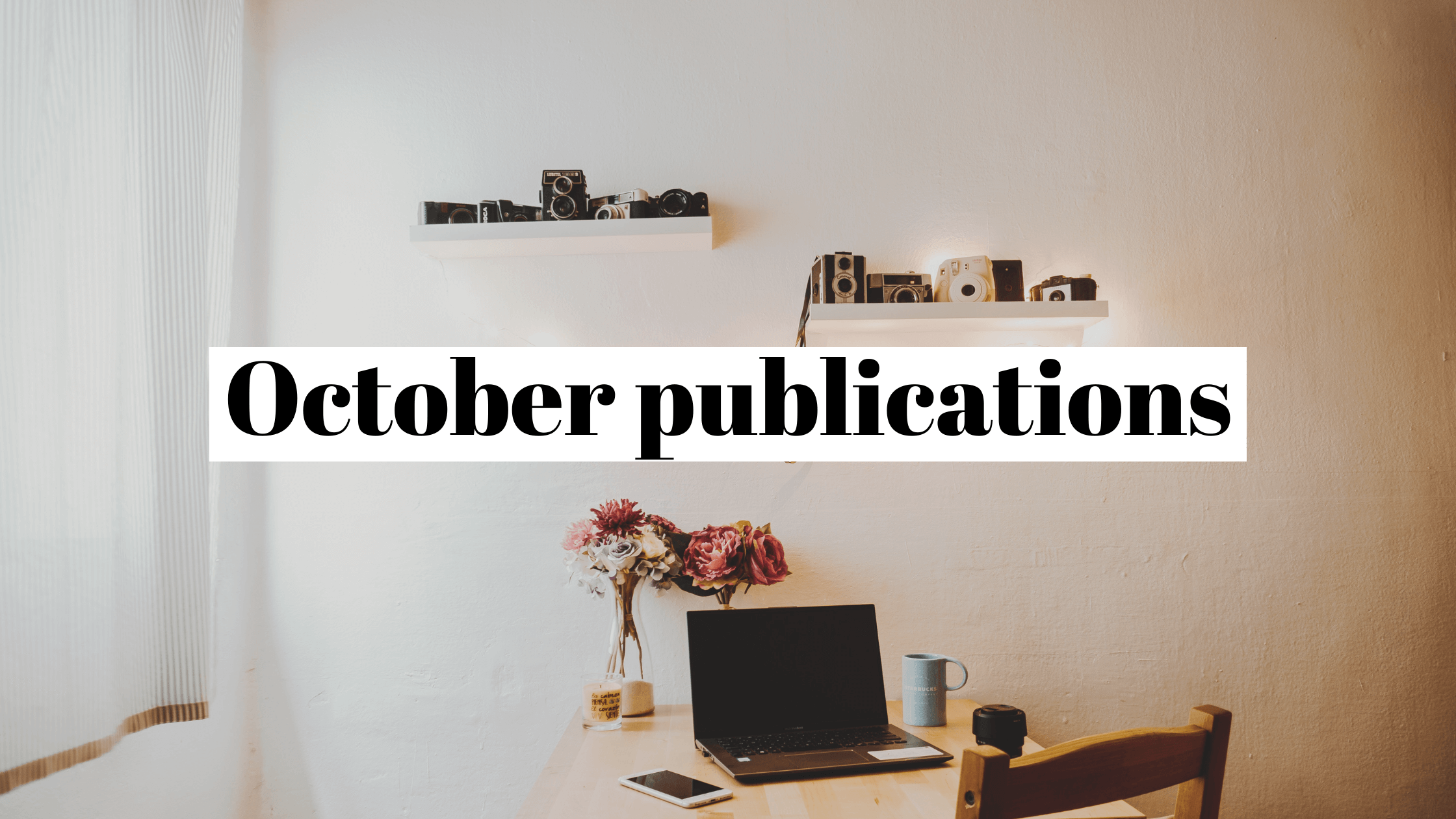 October 2020 publicity recap: howdy, remote work, our old friend