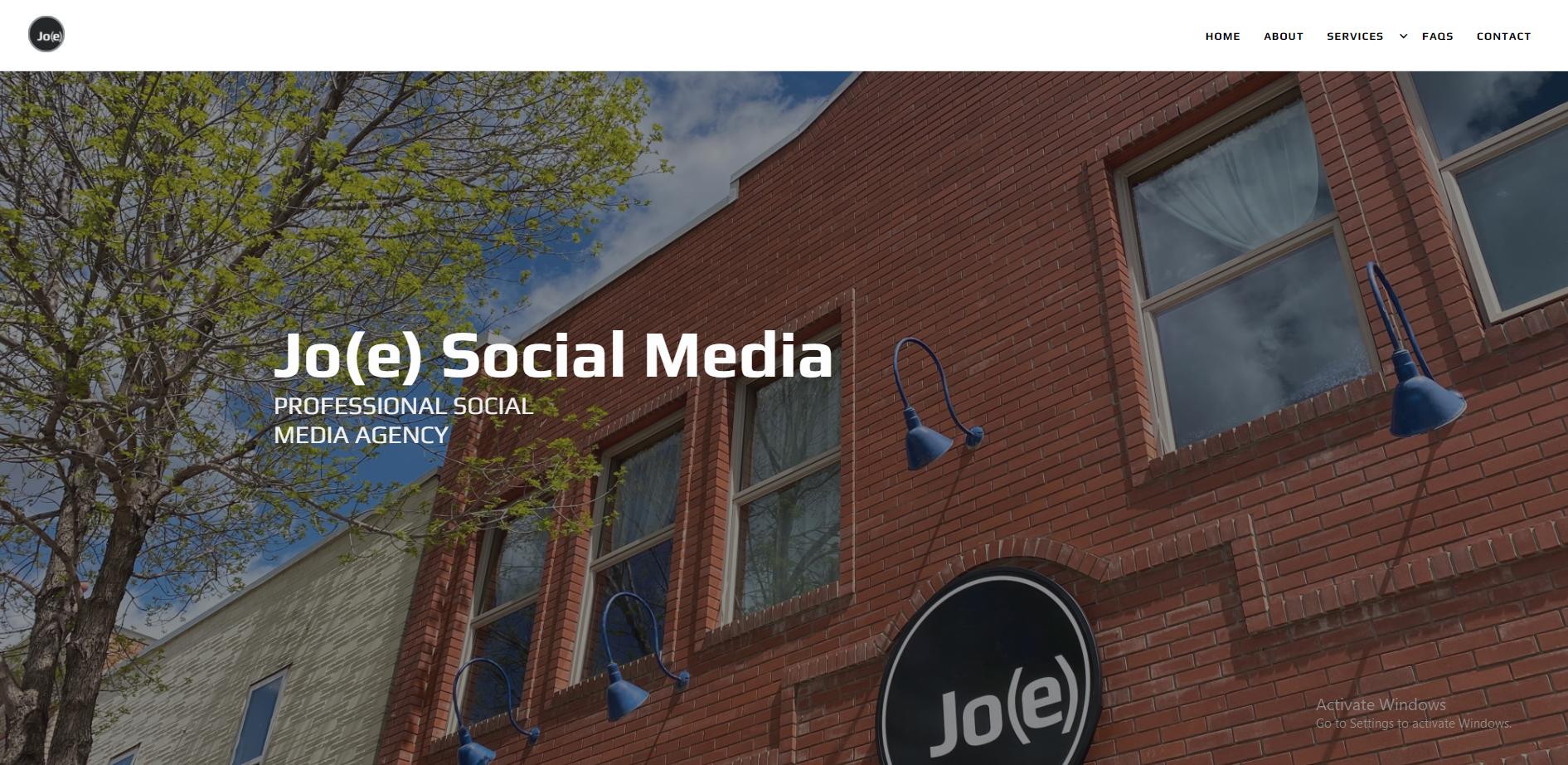 Jo(e) Social Media Page