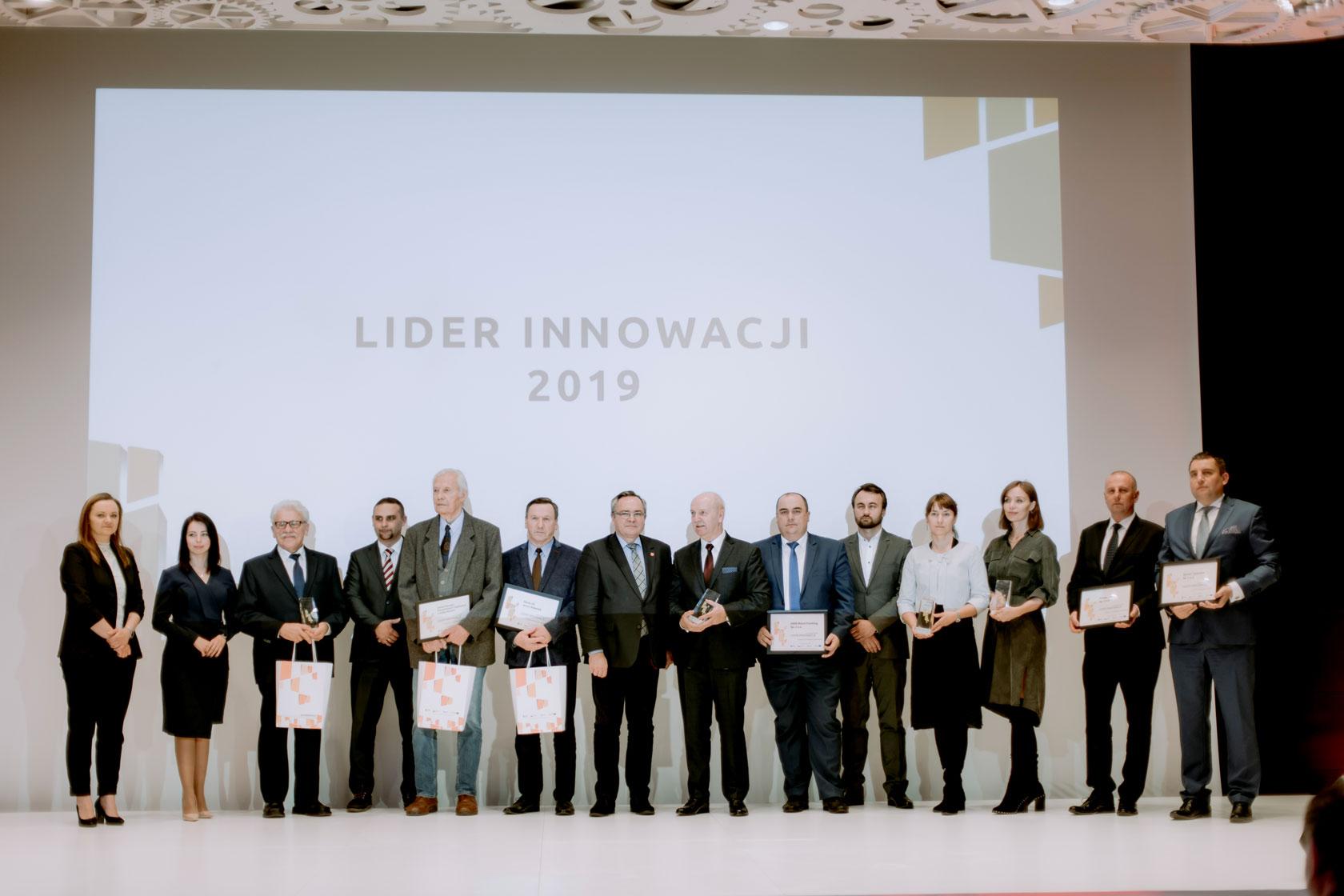 We've been honoured by Leader of Innovation 2019 prize