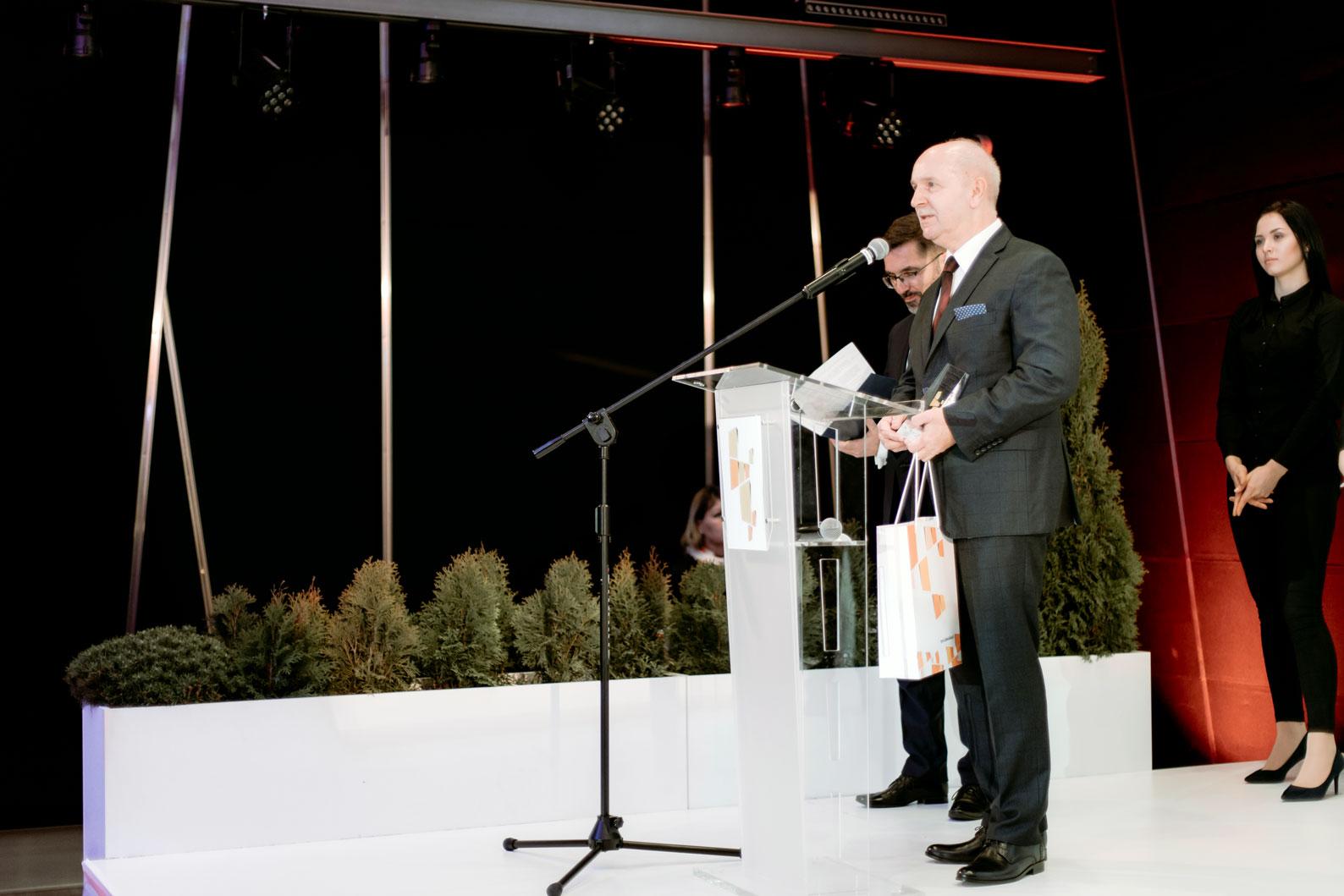 Henryk Kartaszyński's speech on the gala.