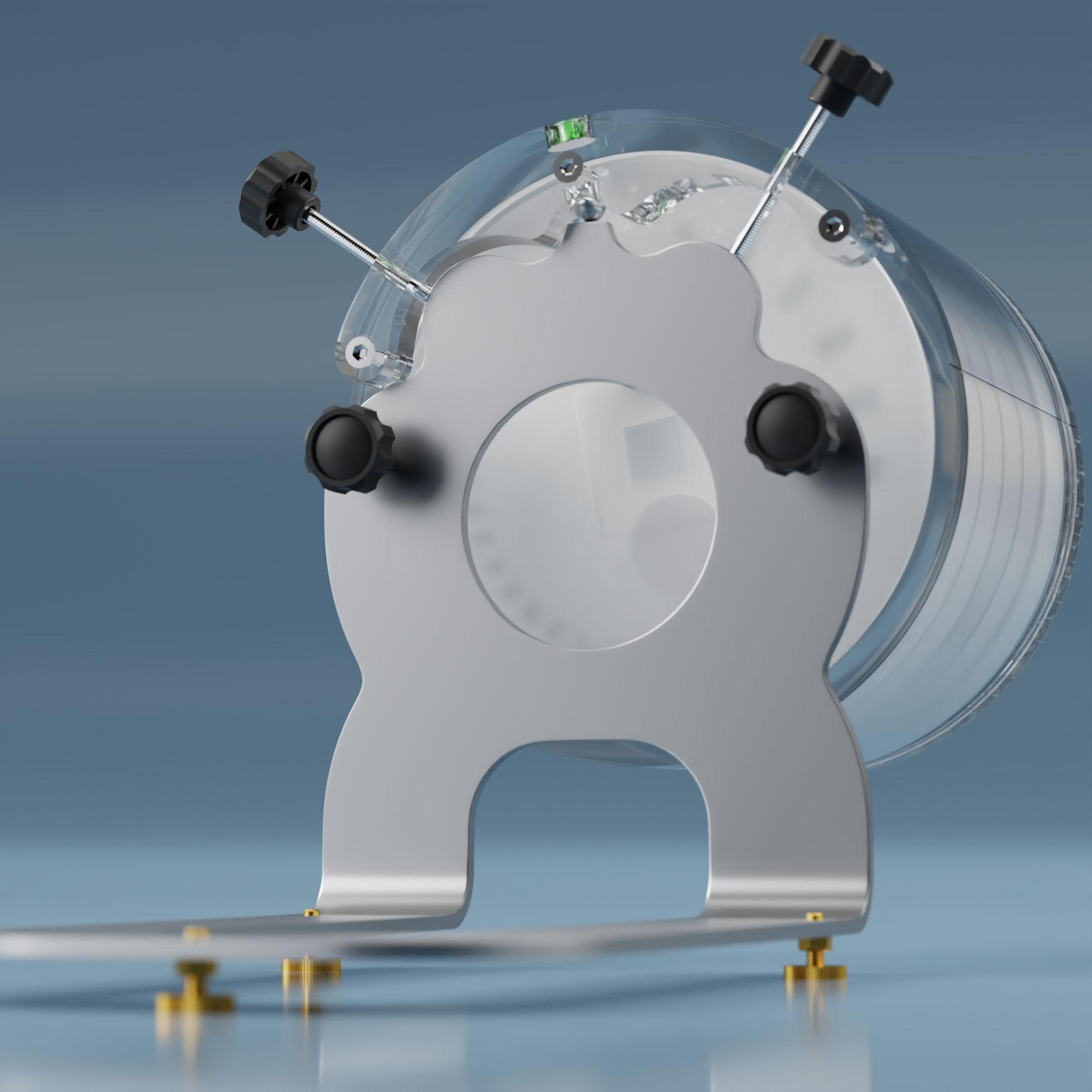 Pro-CT MK II  right adjustment