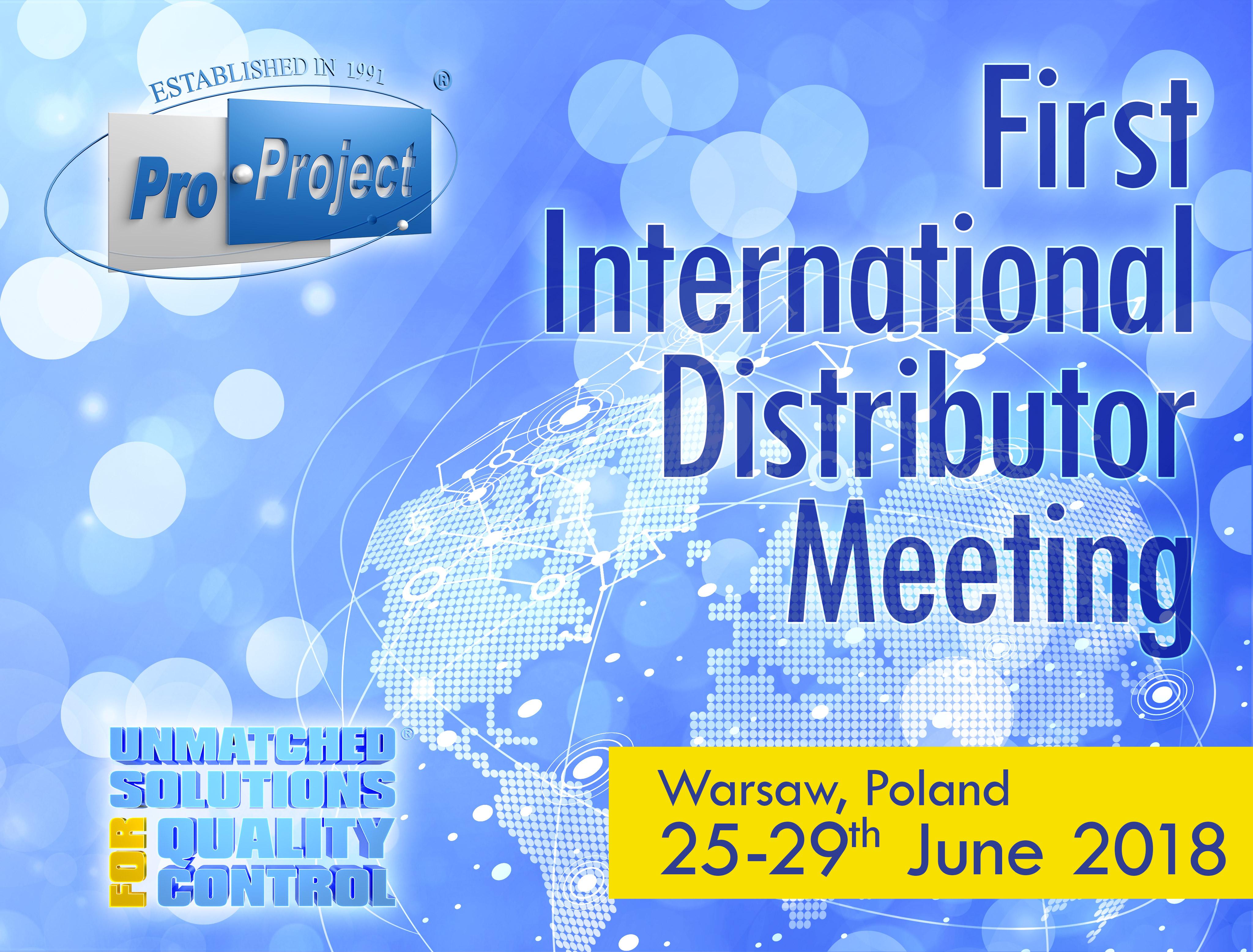 First International Distributor Meeting