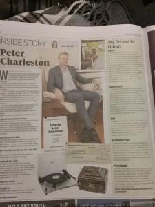 Peter Charleston newspaper article