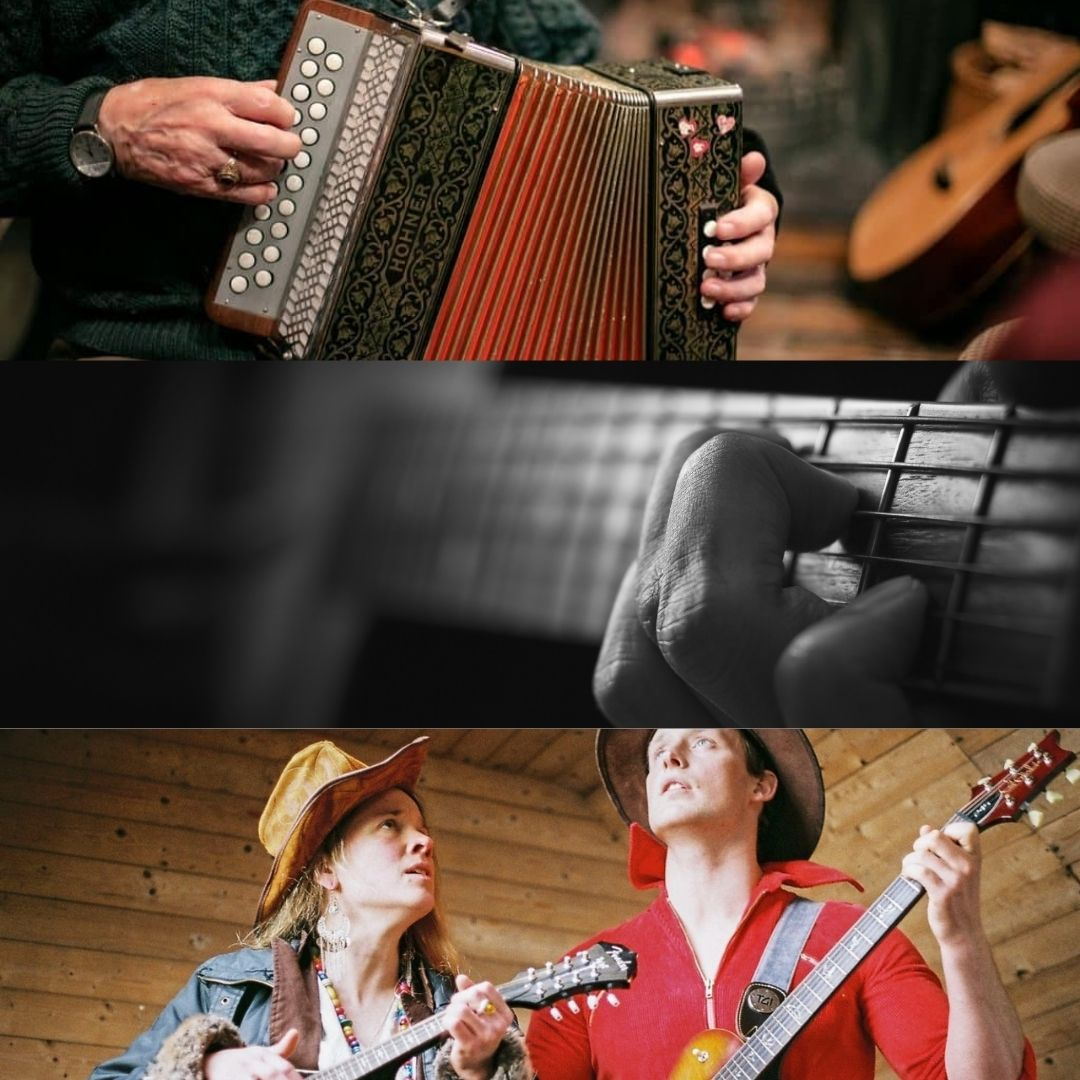 Trad Session with Mark Burke & Friends, Steo, Jess & Bowsey and Starla