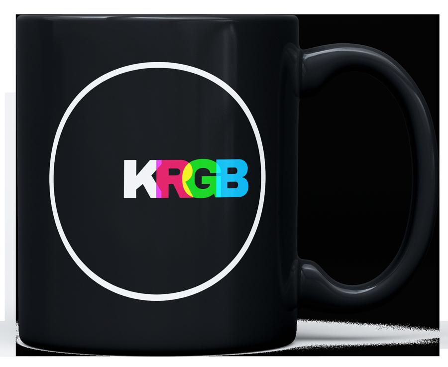 KRGB logo mug