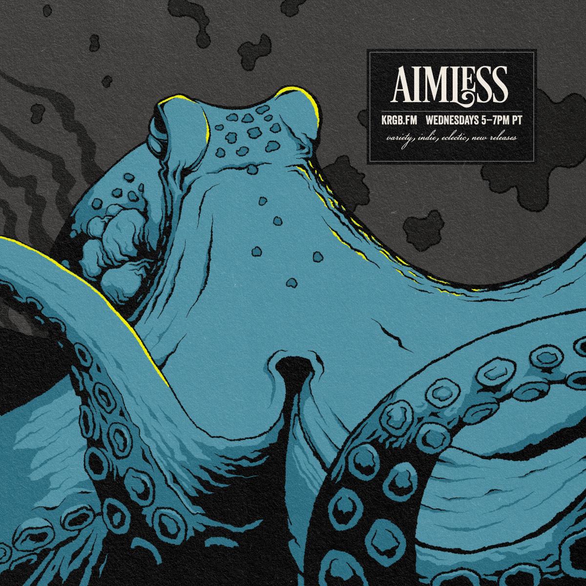 Aimless octopus show art