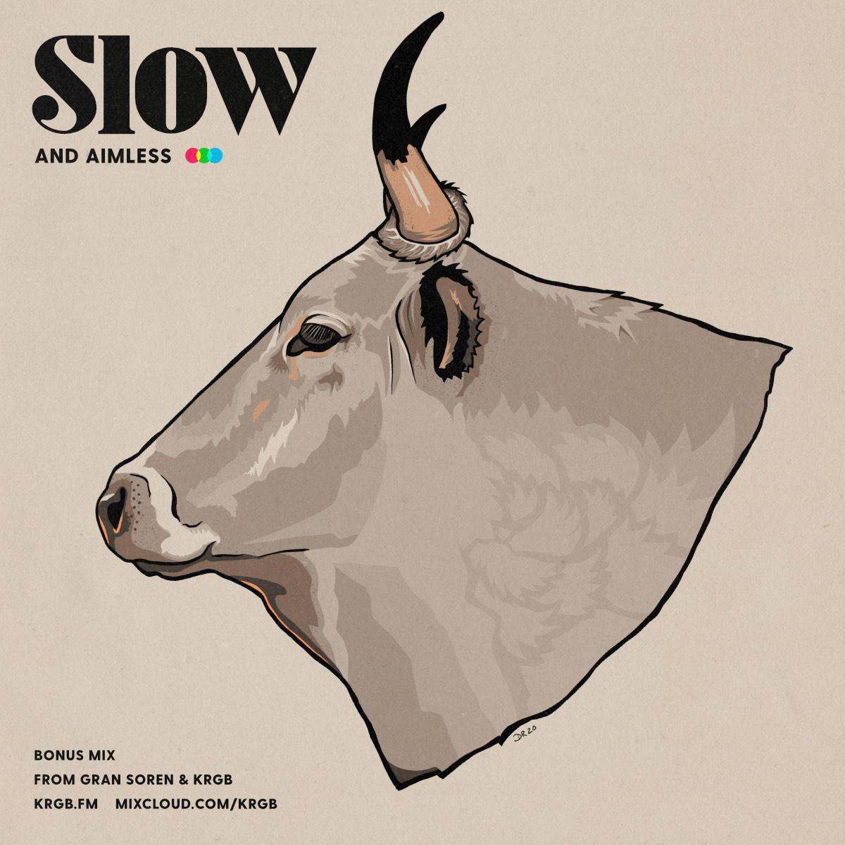 Slow mix show art