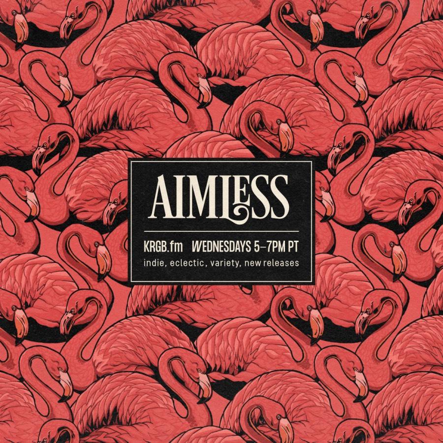 Aimless flamingo artwork