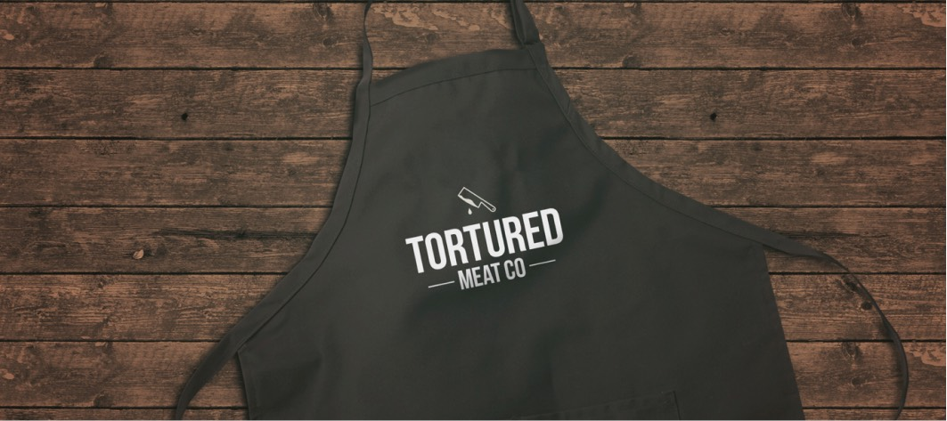 Faux apron for Tortured Meat Co.