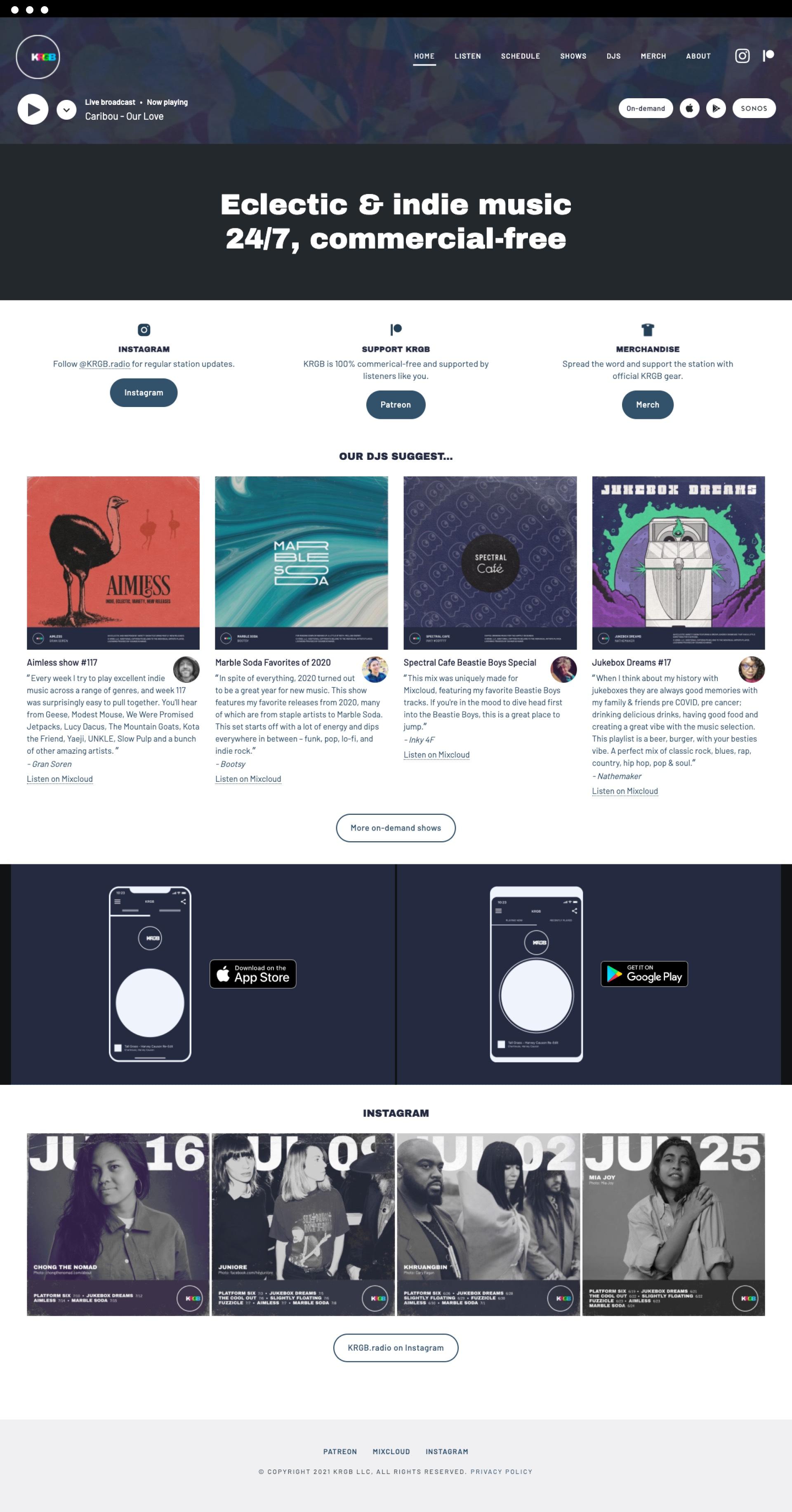 KRGB v3 homepage full length