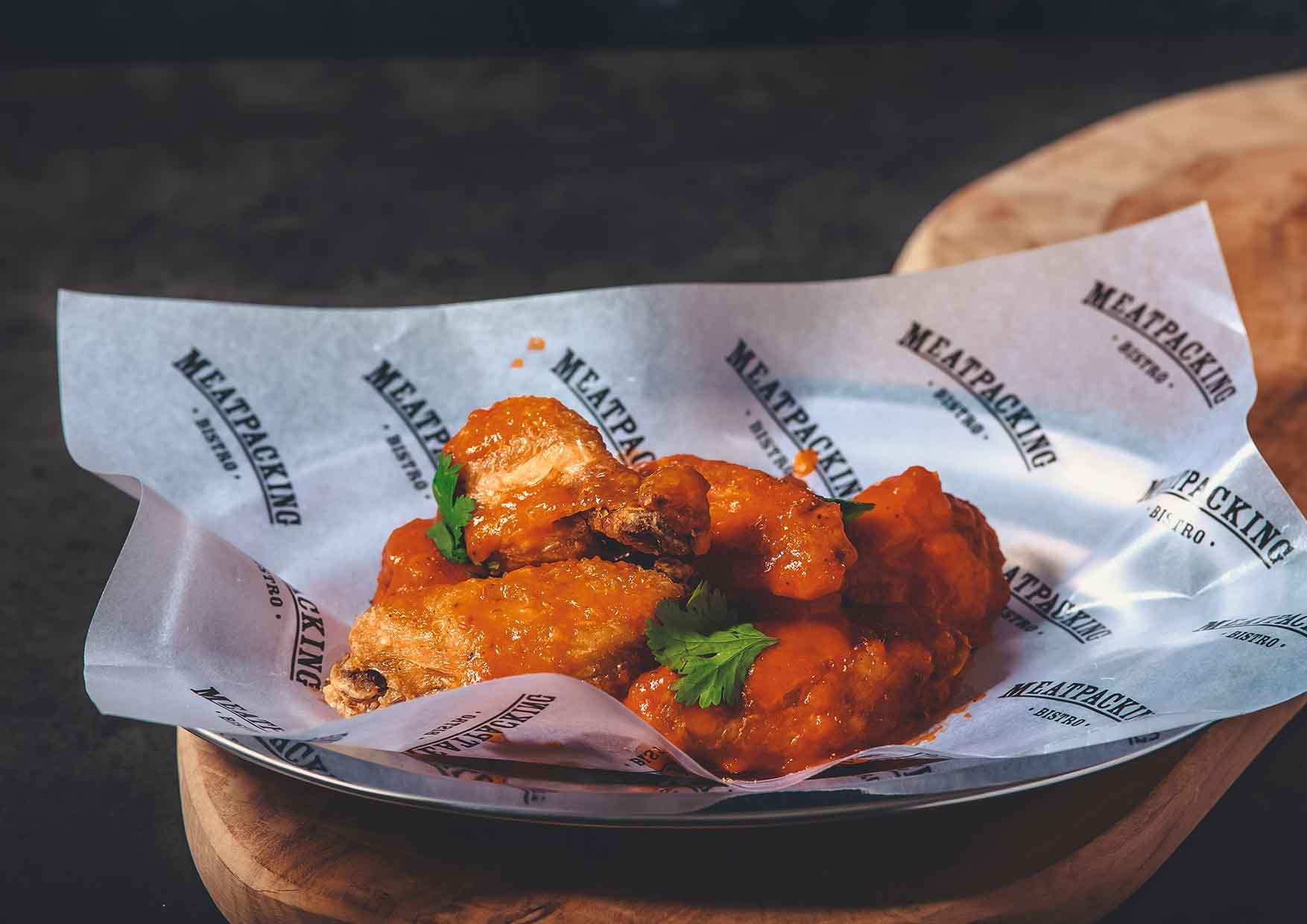 Buffalo Chicken Wings - comida a domicilio cerca de mi - Meatpacking