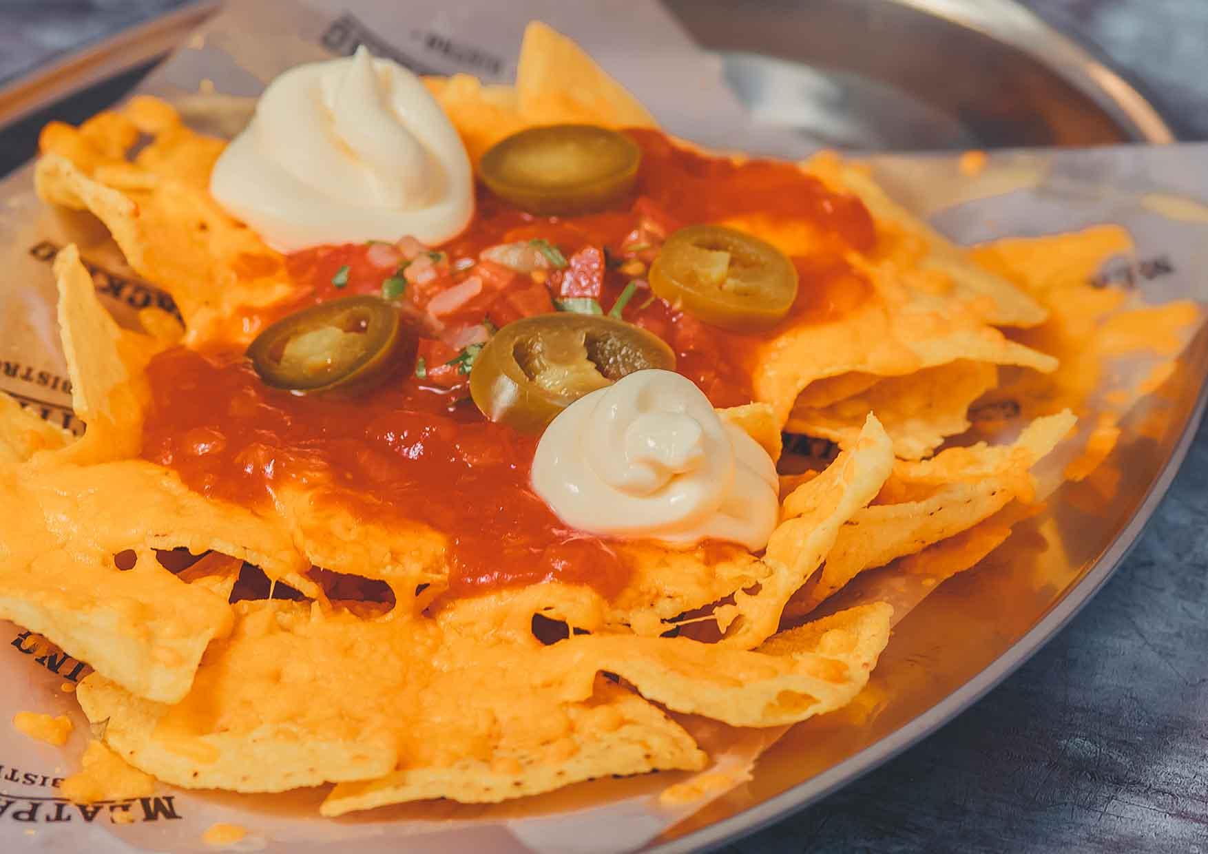 Dandys Nachos - comida a domicilio barcelona - Meatpacking