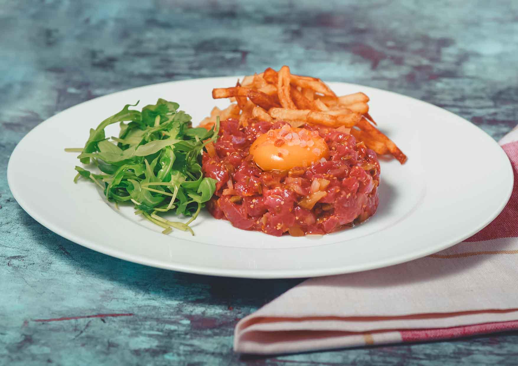 Steak Tartar - comida para llevar - Meatpacking
