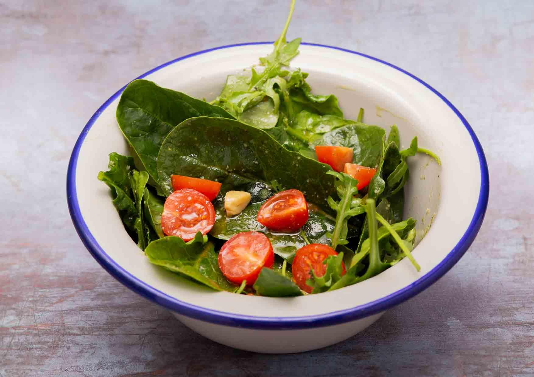 Mini Pesto Salad - menu saludable - Meatpacking - restaurante a domicilio barcelona