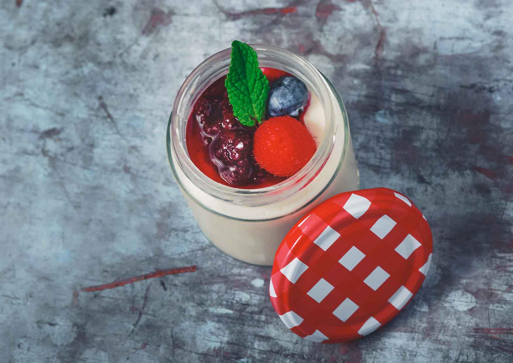 Panna Cotta - postres barcelona - Meatpacking - restaurante a domicilio barcelona