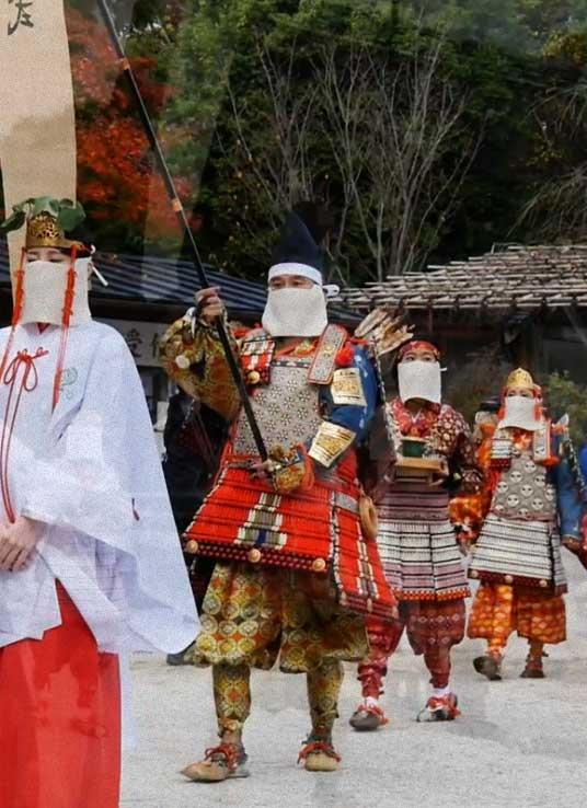 Kamigamo shrine procession
