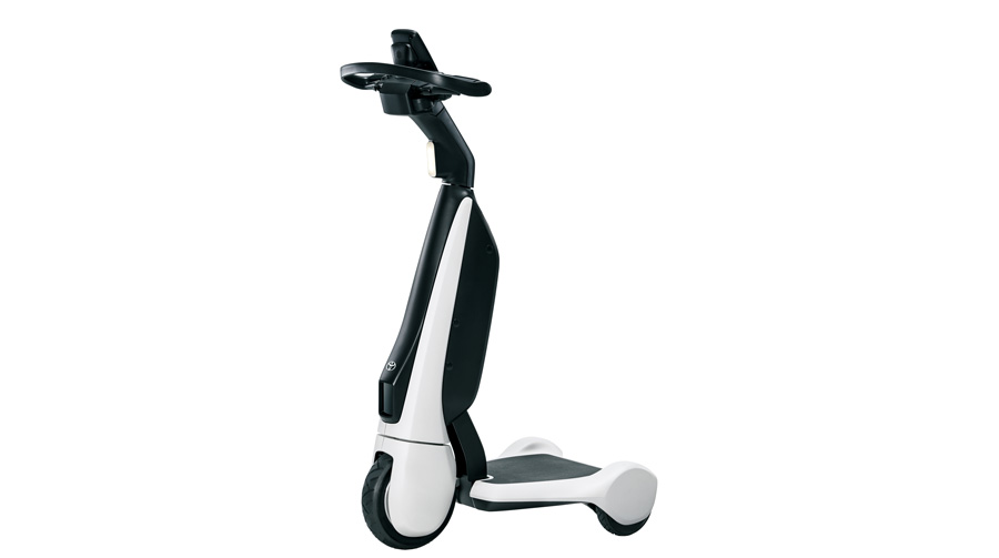 Toyota Launches the C+walk T in Japan, a New Form of Walking-Area Mobility...